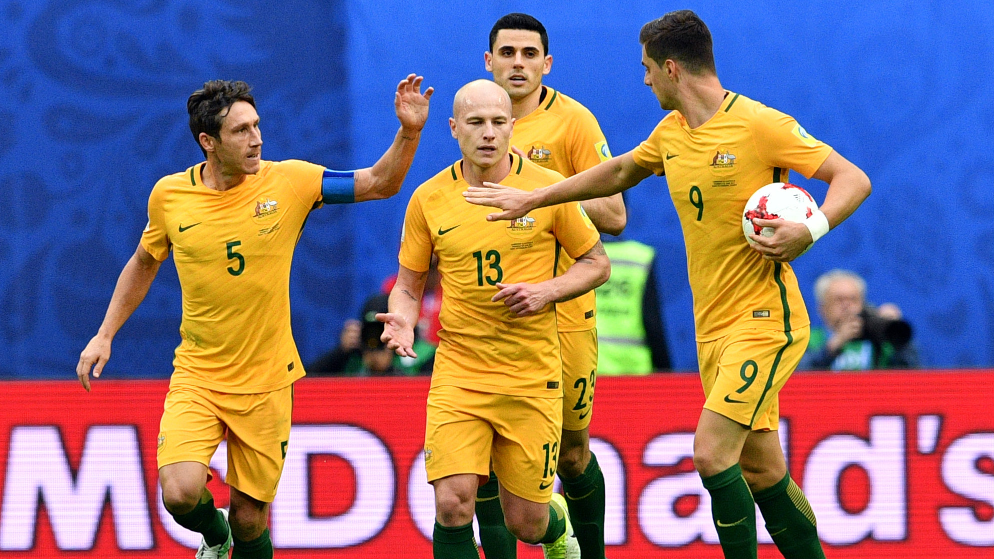 Ange Postecoglou has named a 23-man squad for the Caltex Socceroos' play-off against Syria.