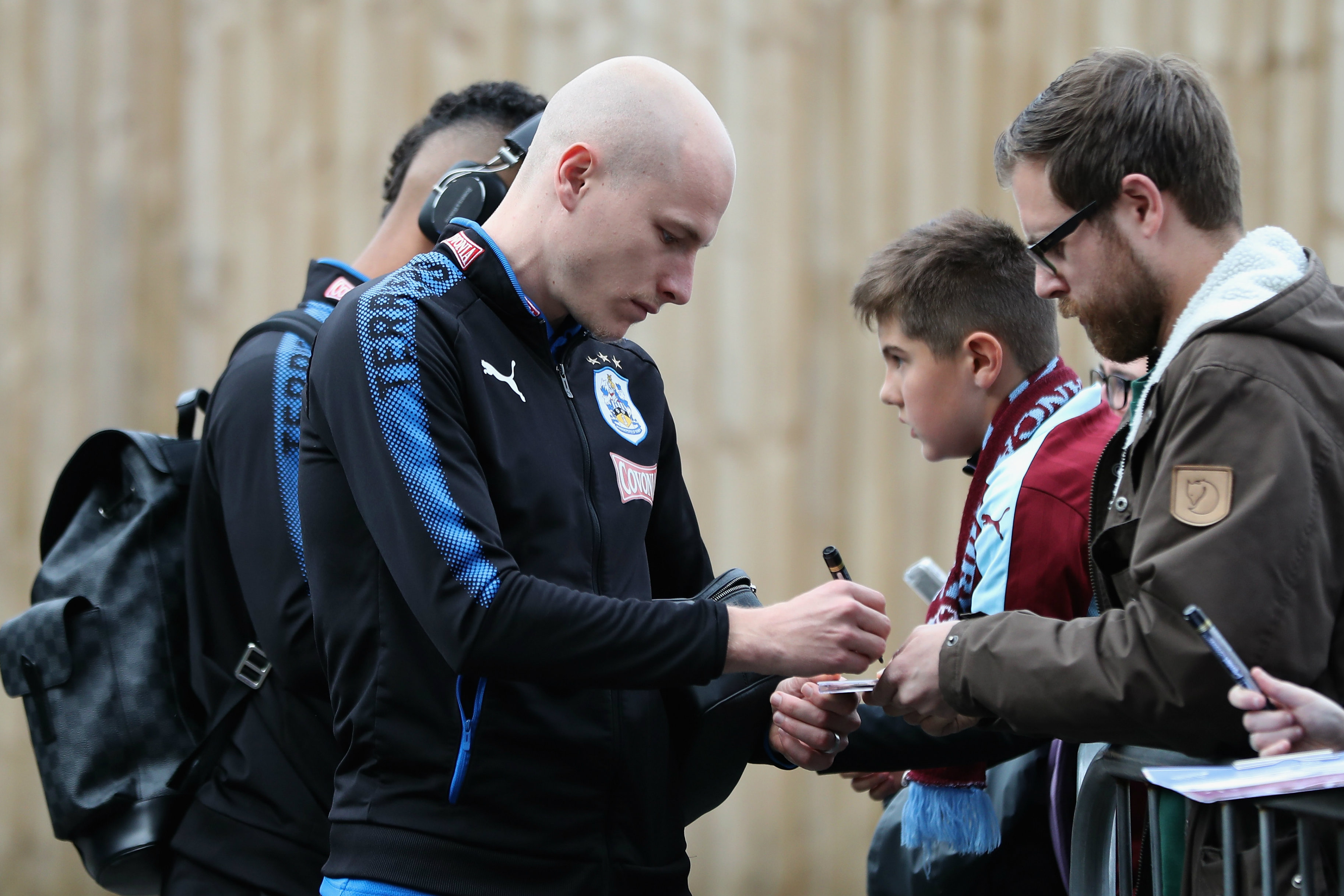 Aaron Mooy has quickly become a fan favourite at Huddersfield Town.