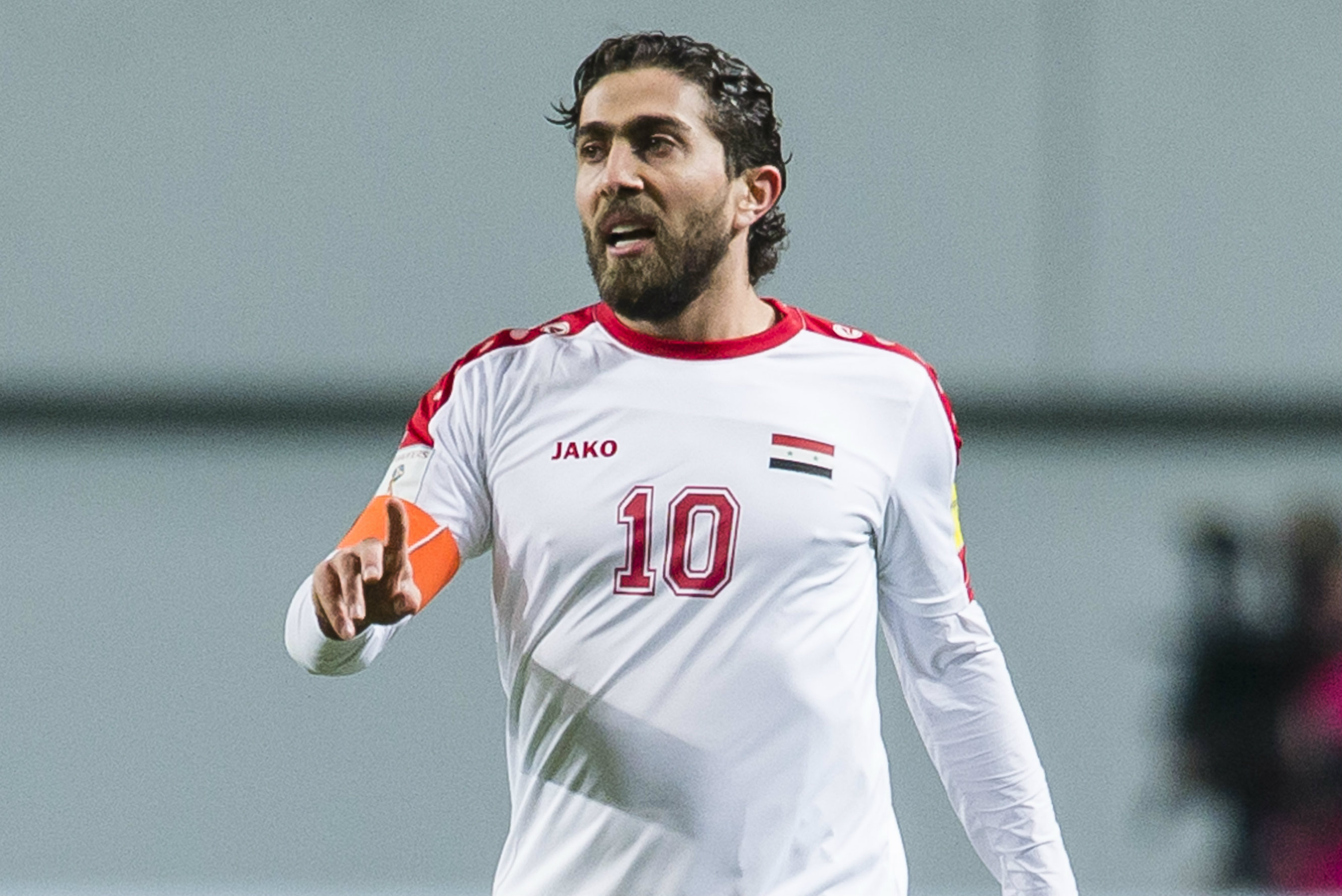Firas Khatib's goals have been vital for Syria in qualifying.