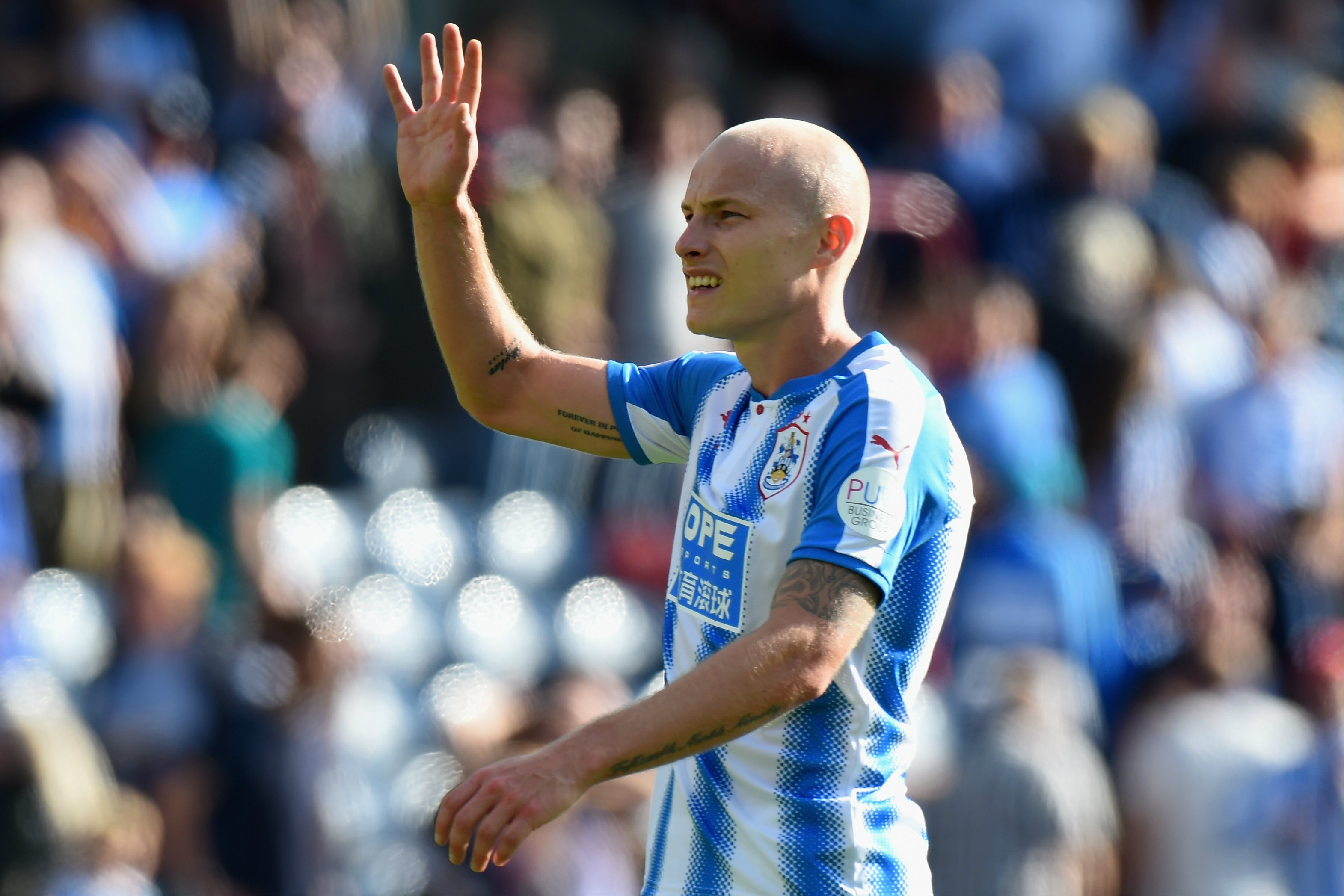 Aaron Mooy has received some more praise from his Huddersfield Town boss David Wagner.