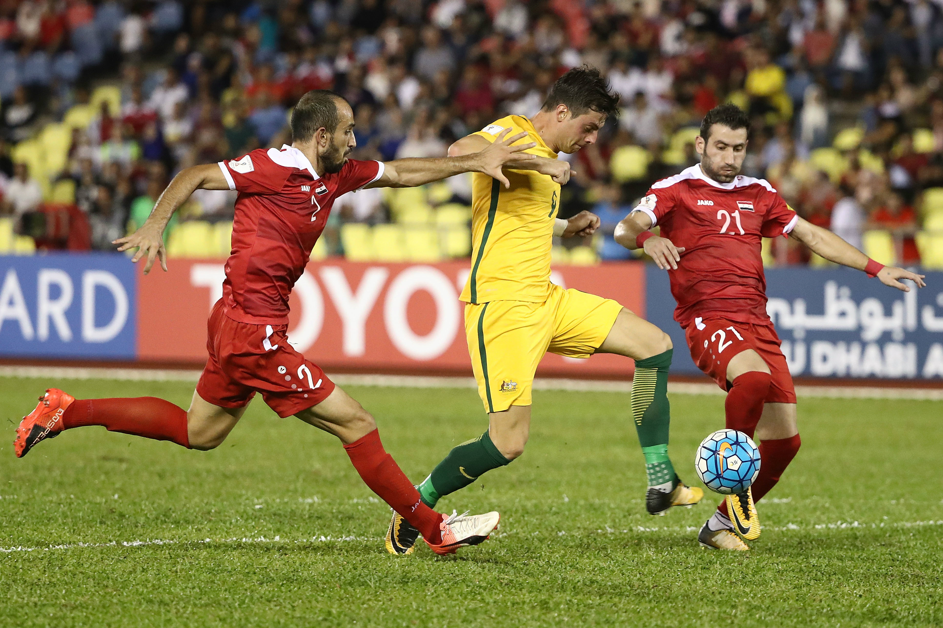 Juric for Socceroos