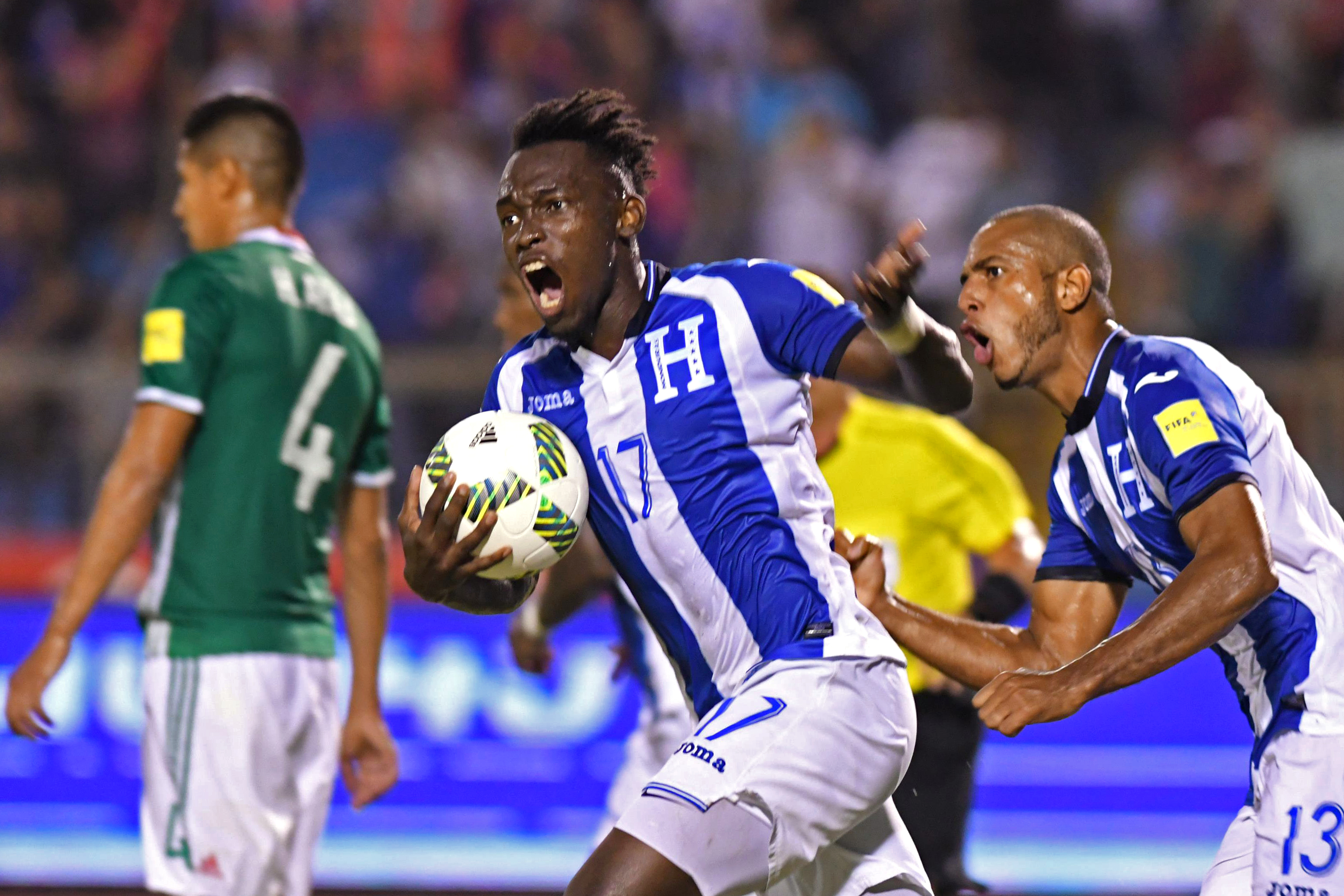 Alberth Elis of Honduras