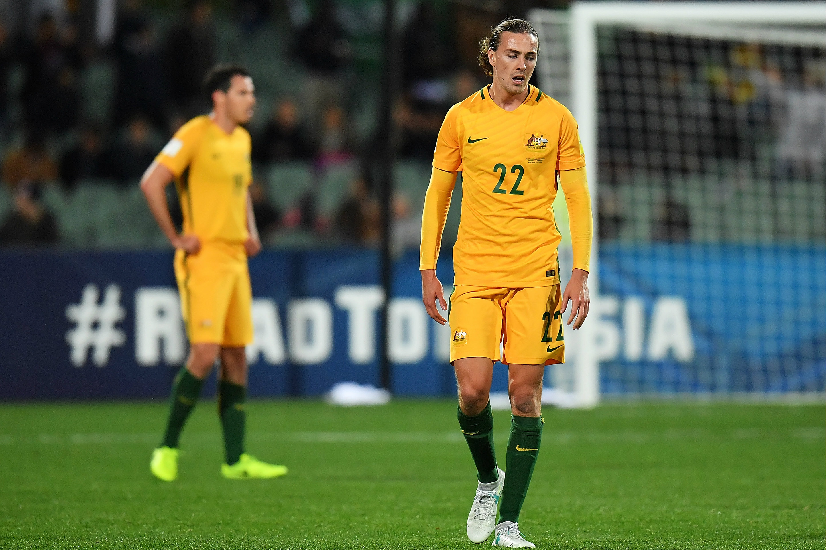 Jackson Irvine says he is re-energised ahead of the clash with Syria.