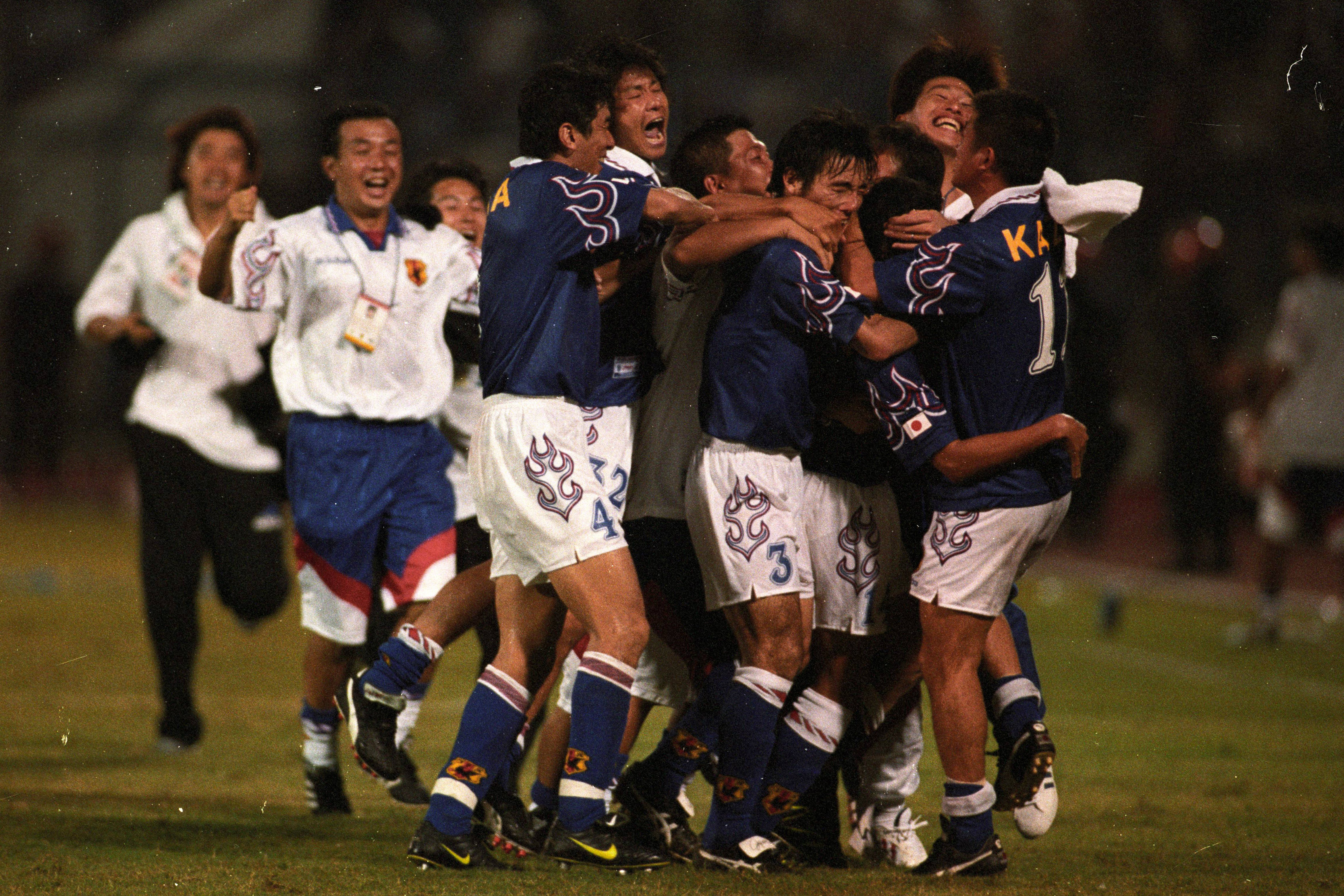 Japan beat Iran to book their spot in the 1998 FIFA World Cup in France.