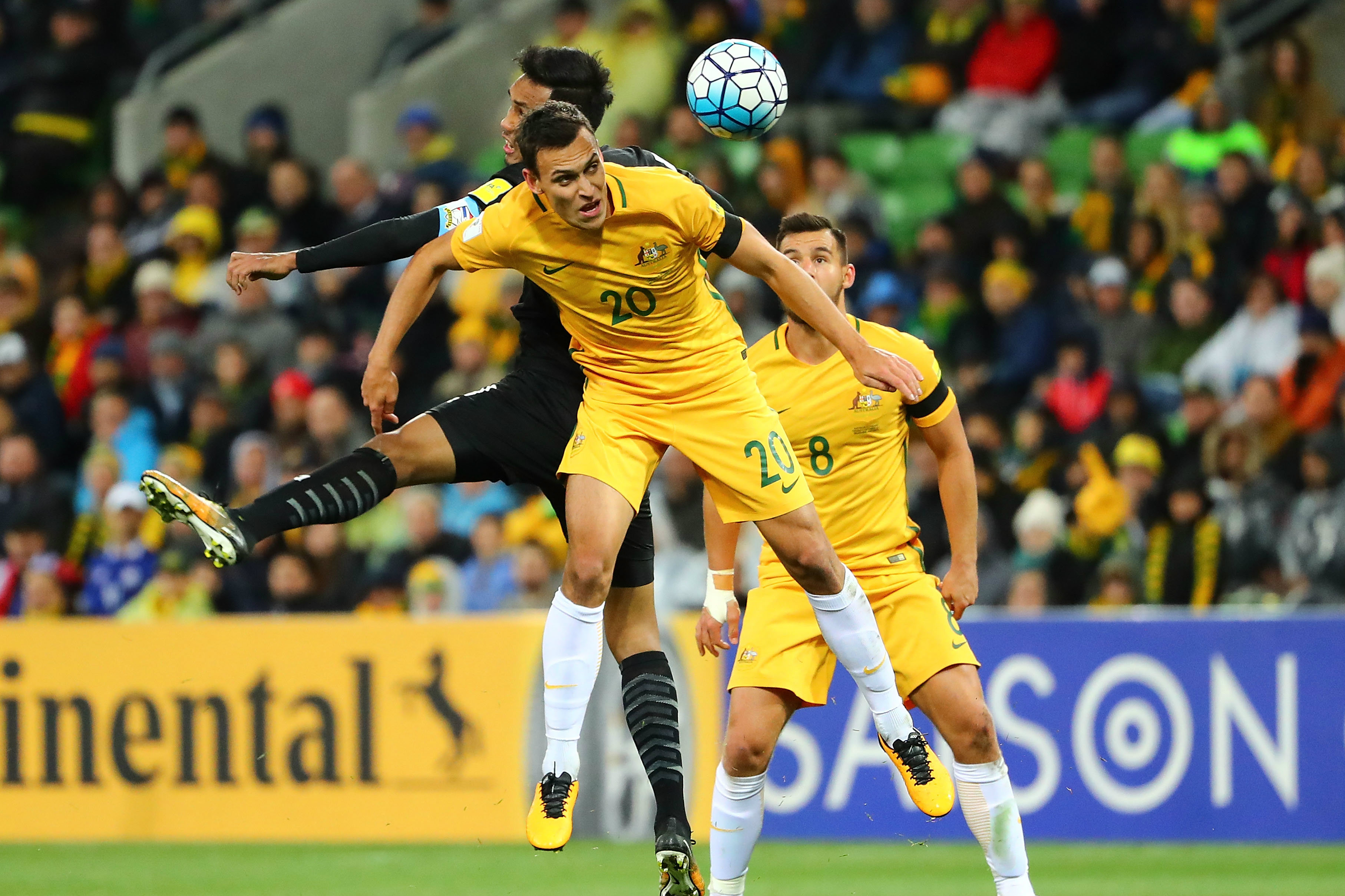 Trent Sainsbury is expecting another physical battle with Syria on Tuesday night.
