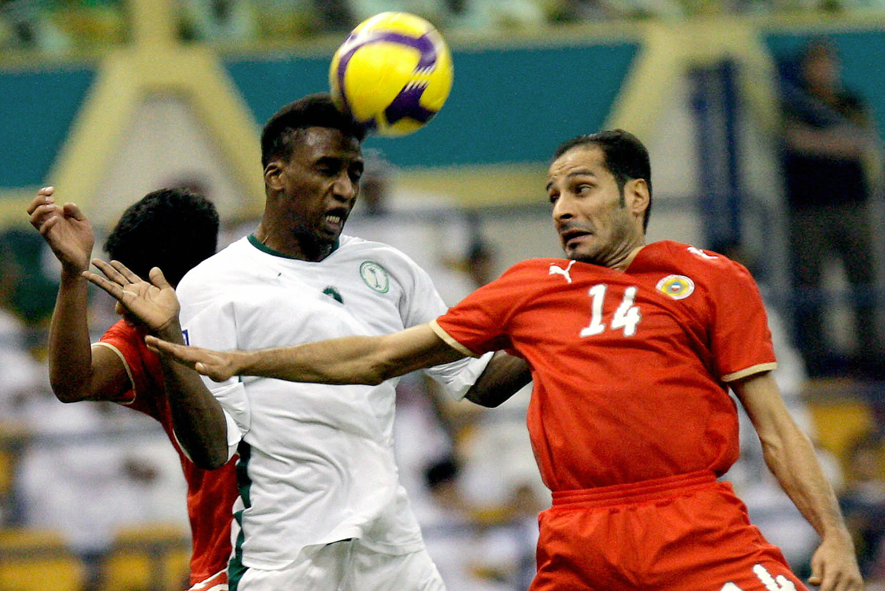 Bahrain edged past Saudi Arabia in a playoff clash in 2009.
