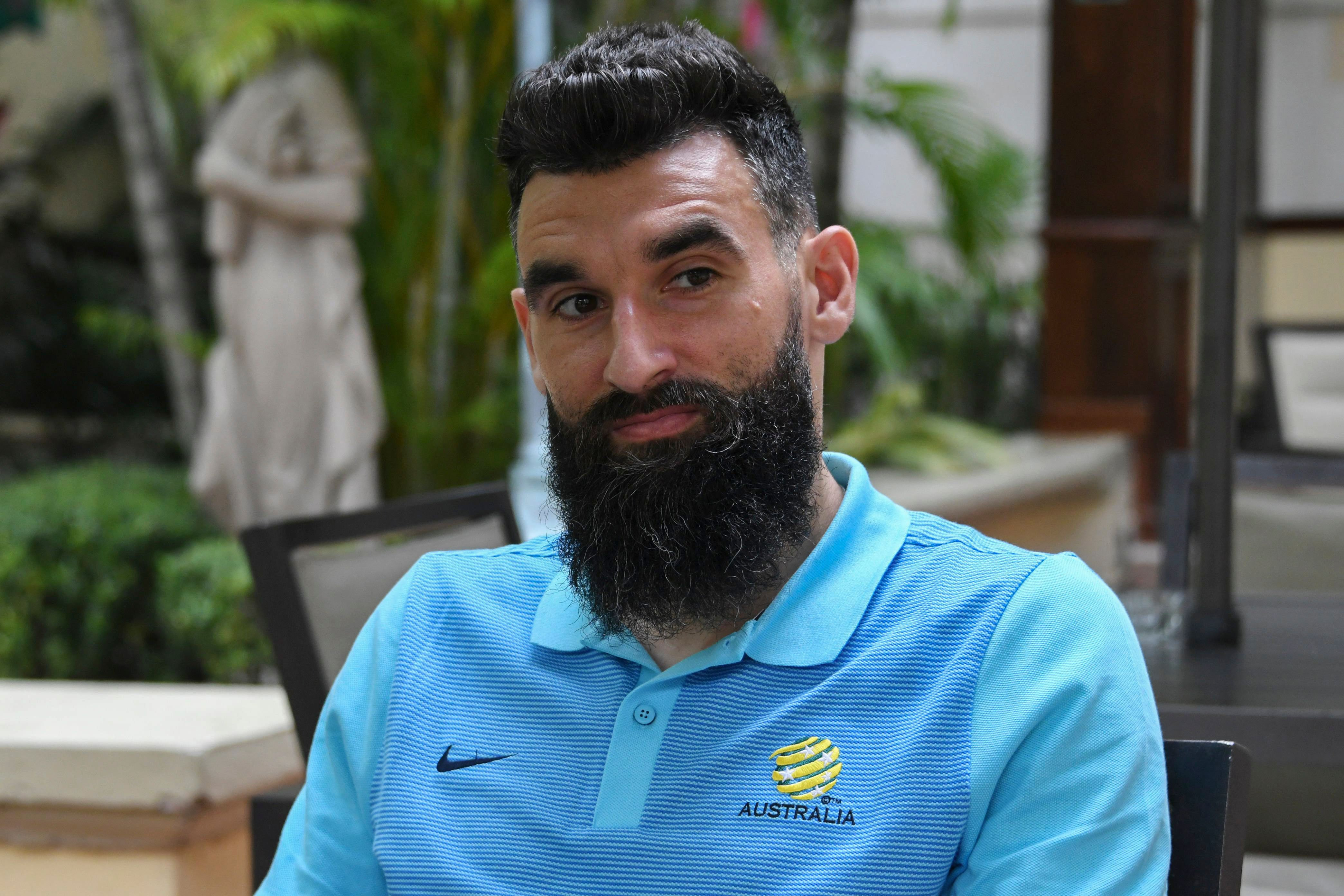 Caltex Socceroos skipper Mile Jedinak is back!