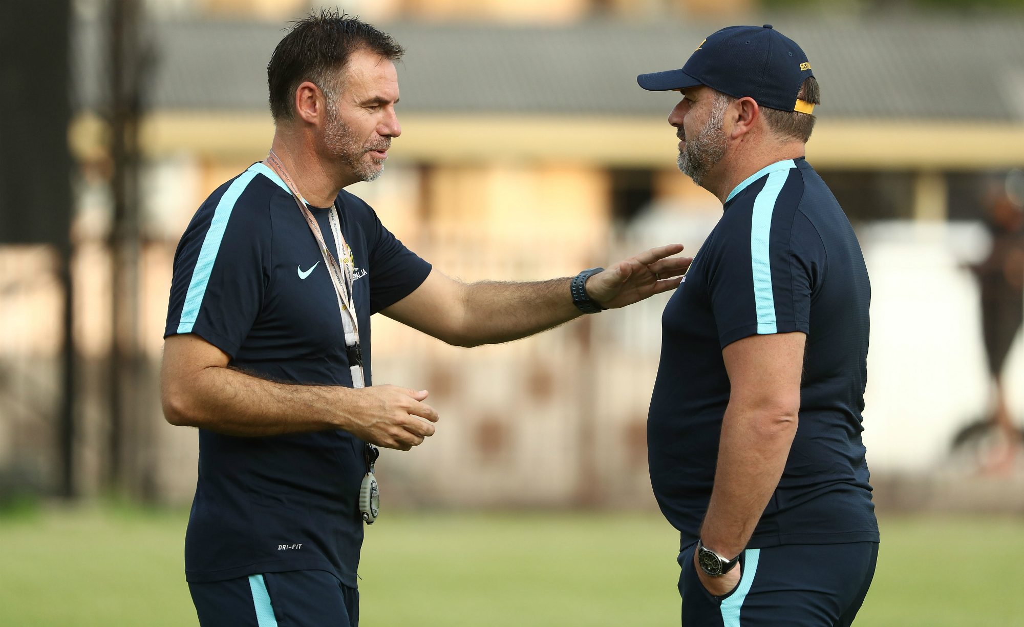Ante Milicic and Ange Postecoglou