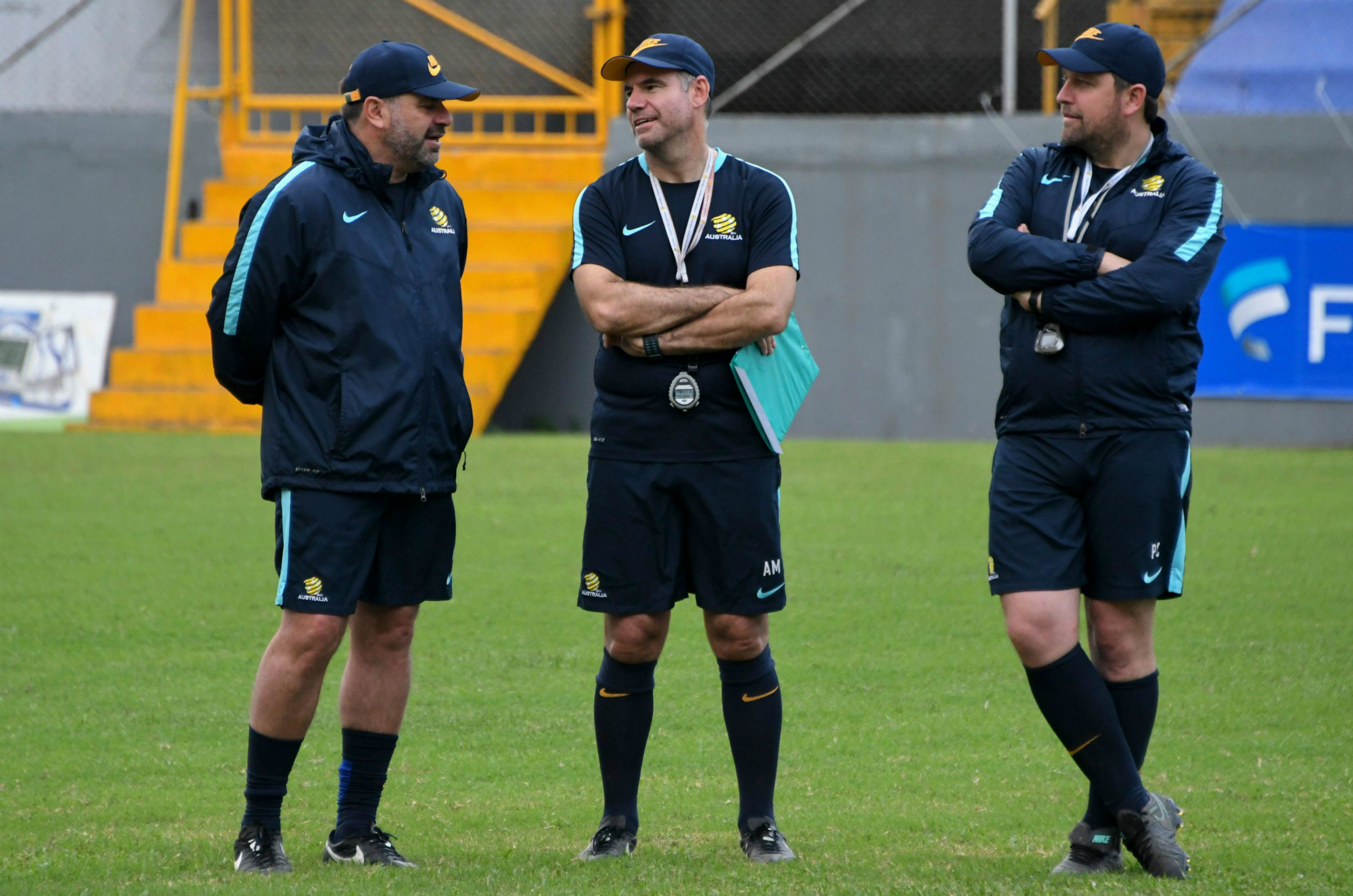 Socceroos coaching staff