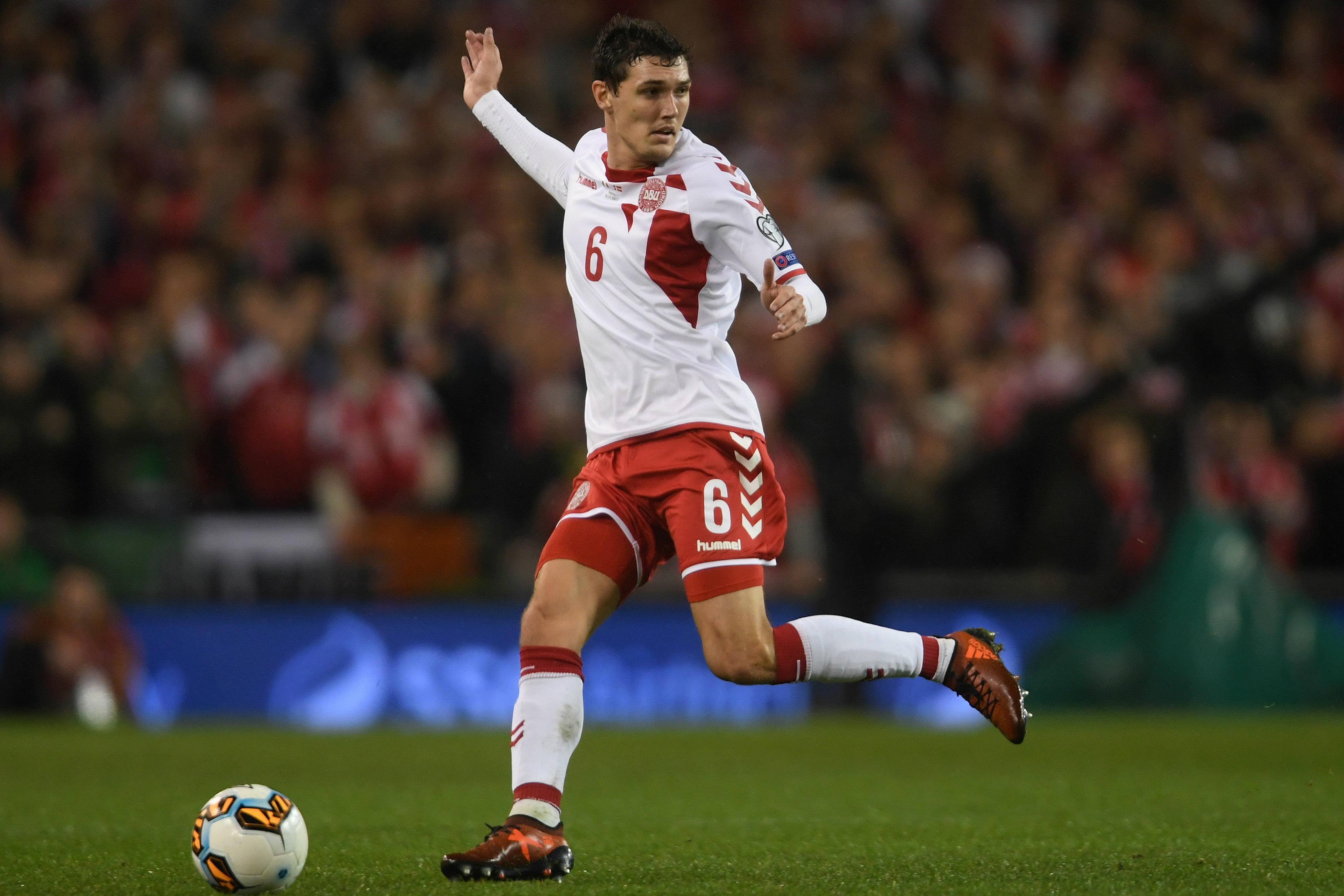 Andreas Christensen plays his club football with EPL champions Chelsea.
