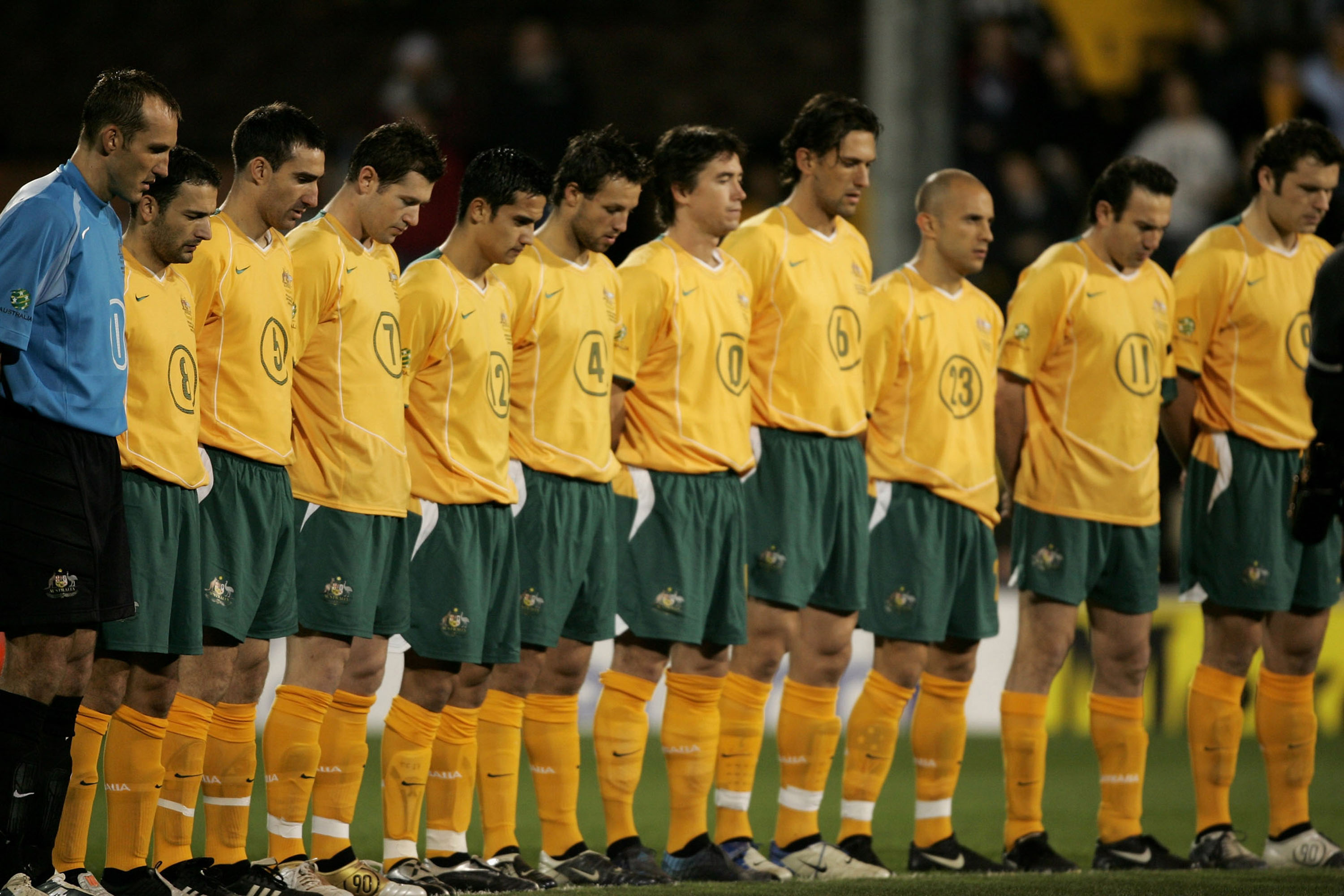 Socceroos v Norway 2004