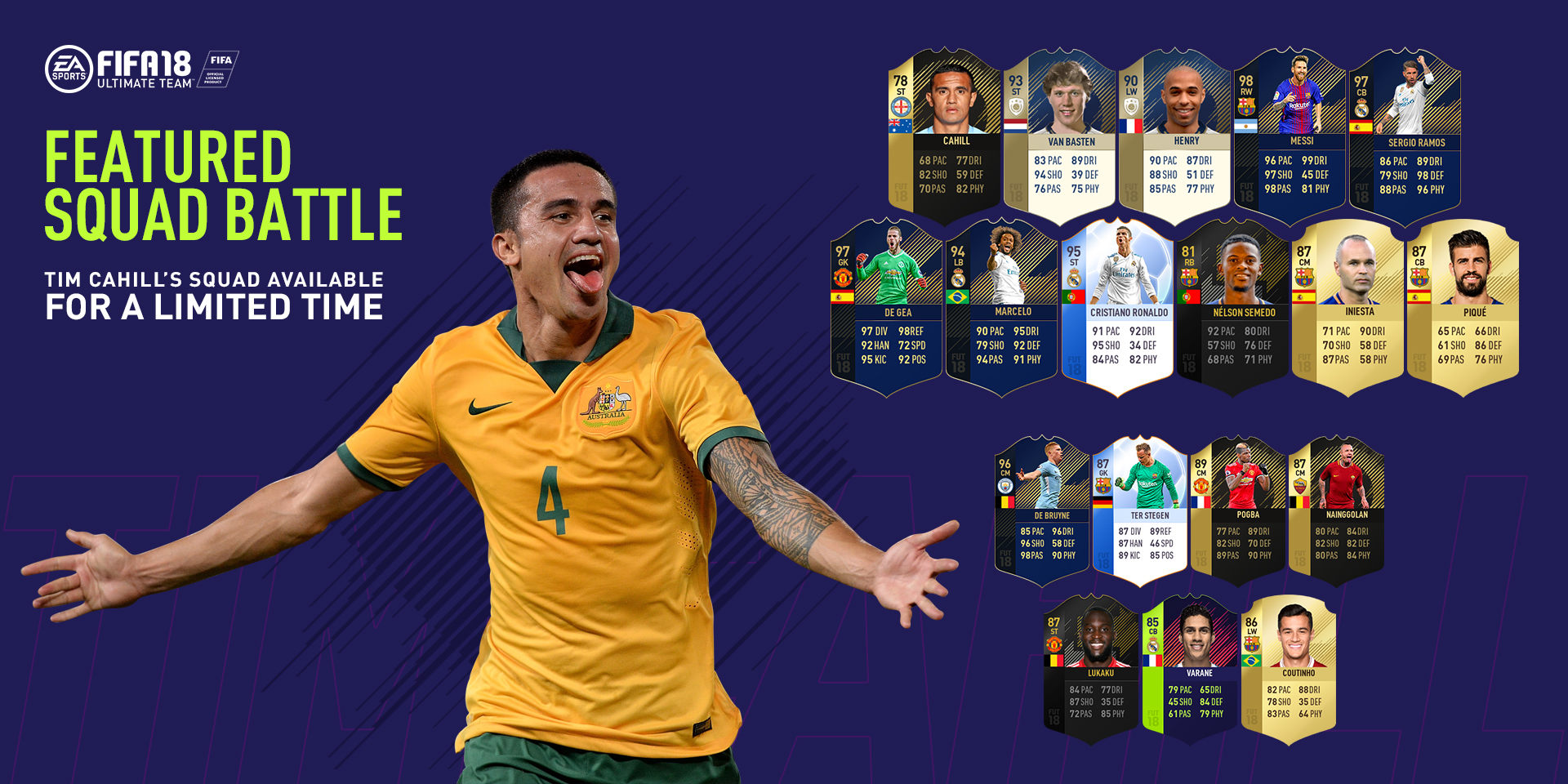 Tim Cahill FIFA Ultimate Team