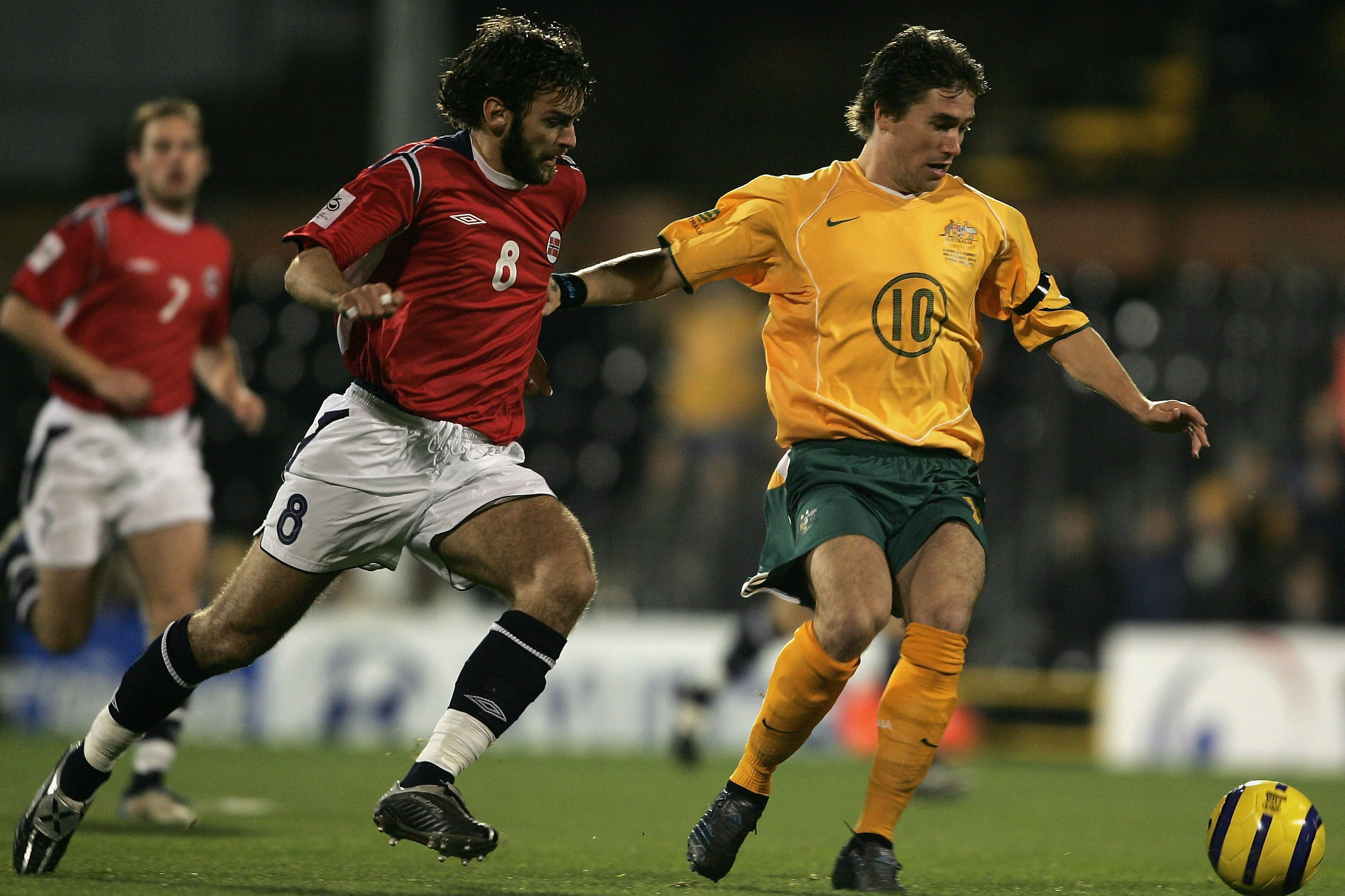 Harry Kewell was part of a star-studded Australian side against Norway.