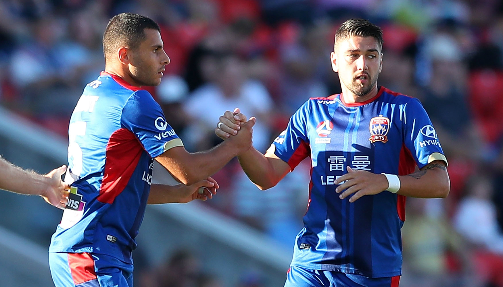 Andrew Nabbout and Dimitri Petratos