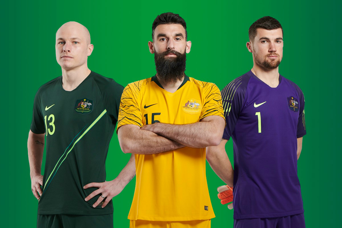 Nike launch fresh Caltex Socceroos kit  d9ffbaec4