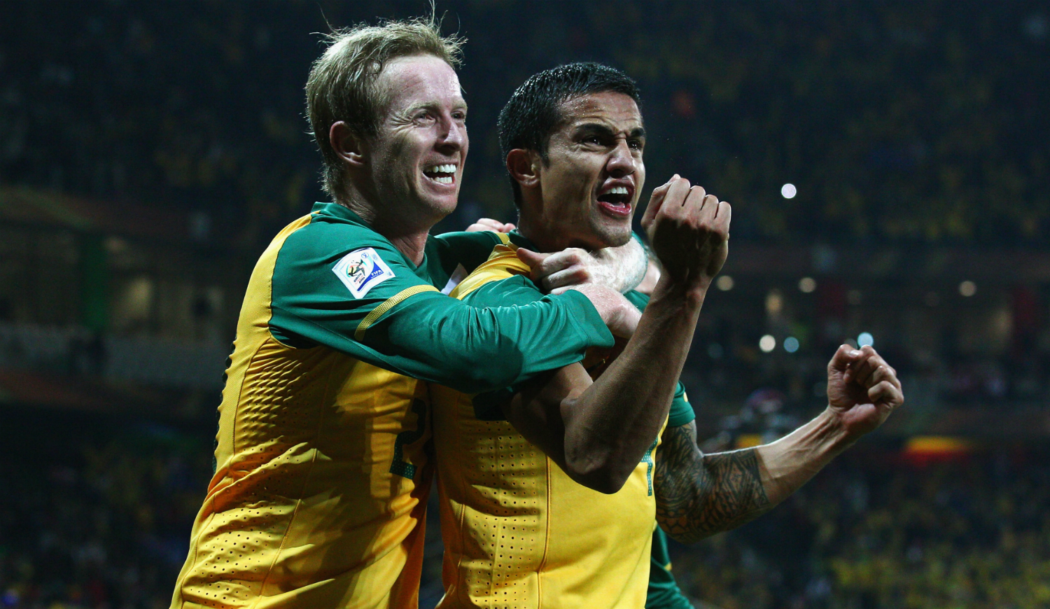 David Carney and Tim Cahill