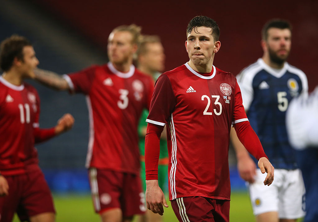 Pierre-Emile Hojbjerg has not made the cut for Denmark