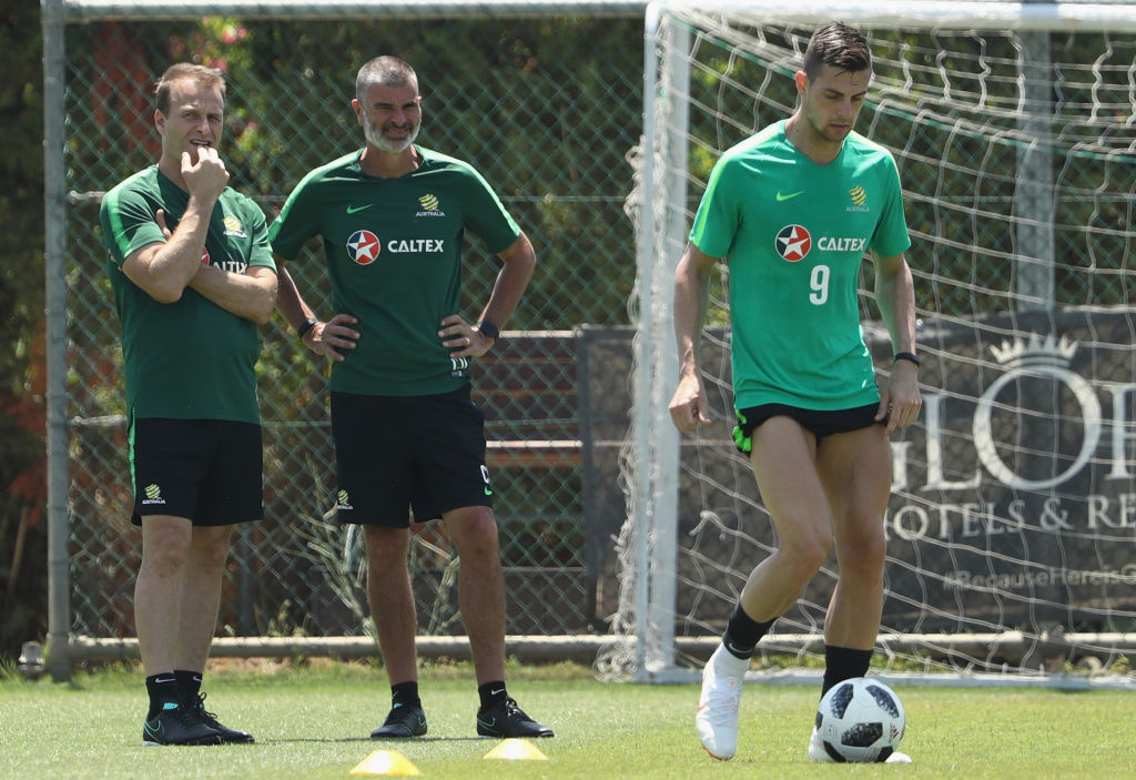 Tomi Juric trained with the group and did solo work on Monday.