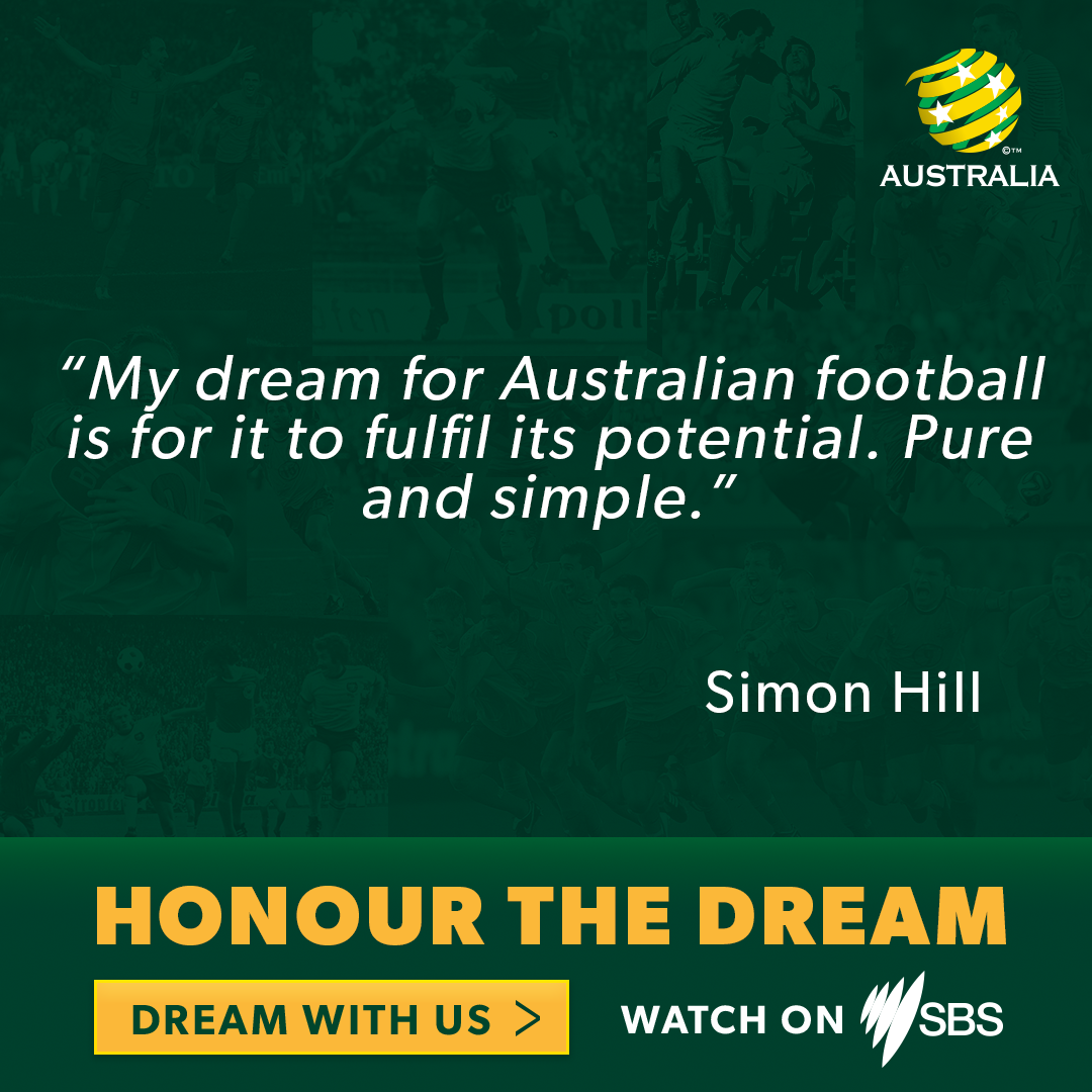 Honour the dream - simon hill