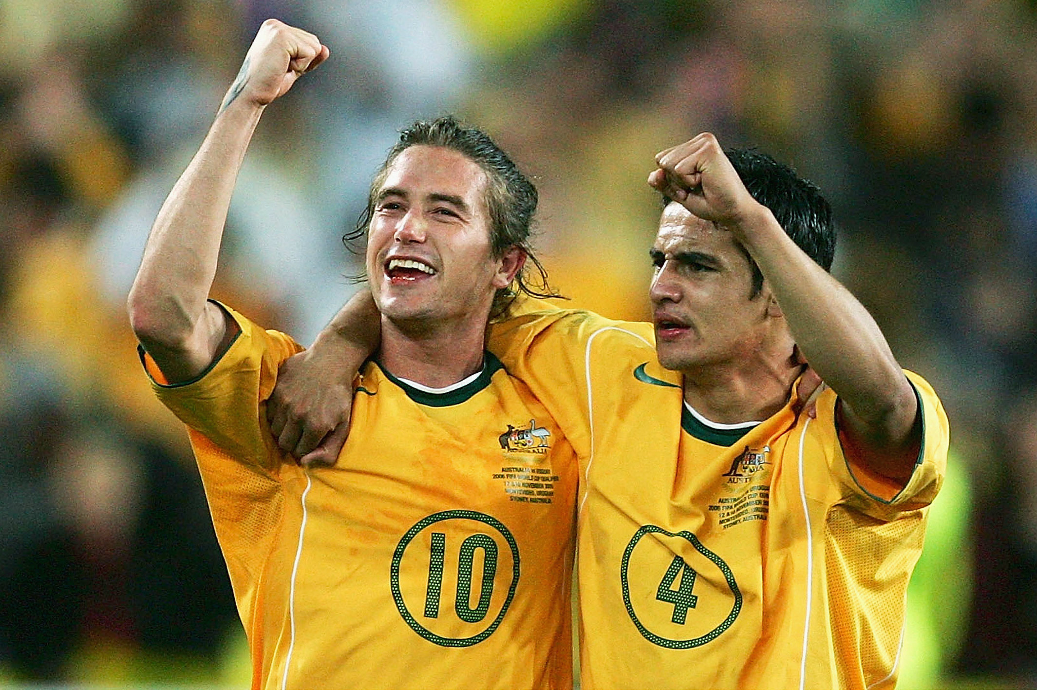Tim Cahill Harry Kewell