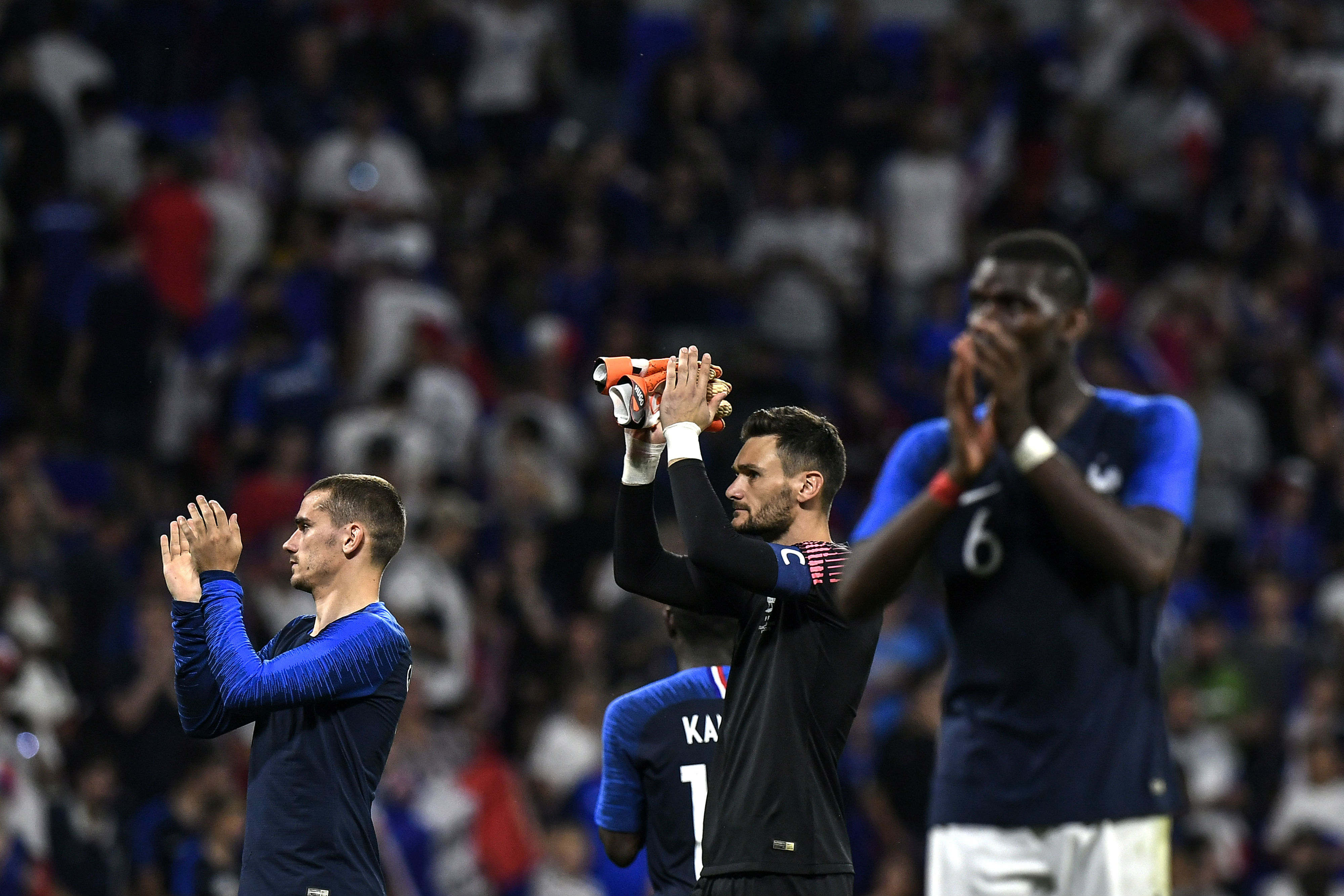 France draw with USA