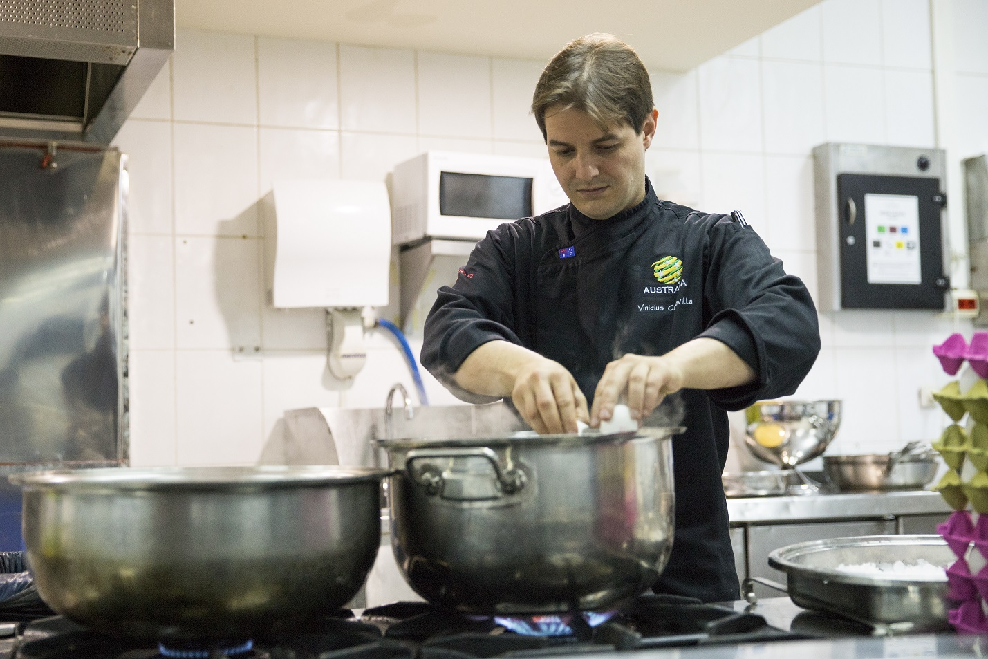Vini Capovilla is the Socceroos and Matildas chef
