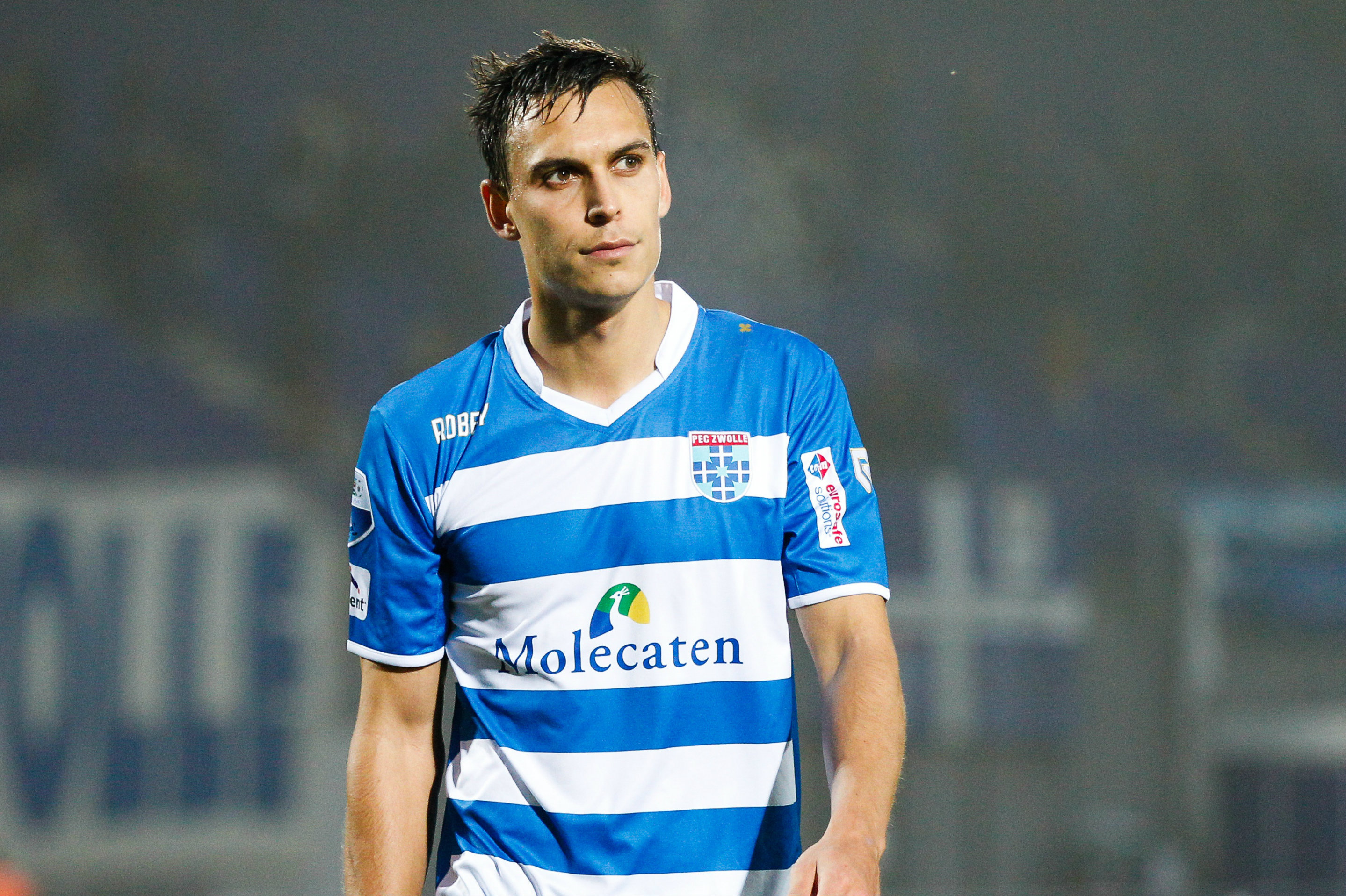 Trent Sainsbury in action for PEC Zwolle.