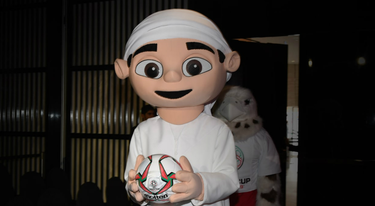 Asian Cup mascots