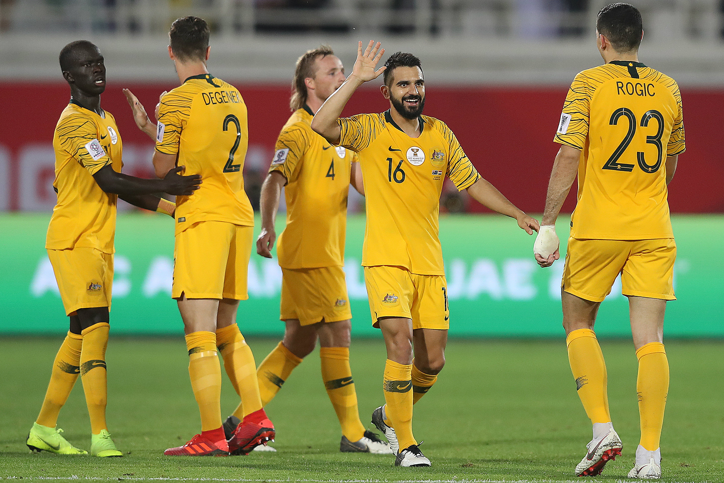The Equation  Socceroos await Round of 16 opponent at AFC Asian Cup UAE 2019™   1ecf2664d