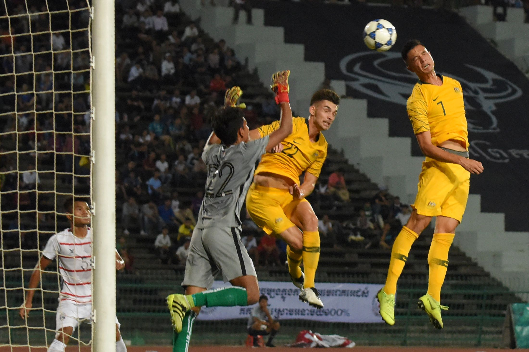 Australia make strong start in Phnom Penh on road to Thailand and Tokyo