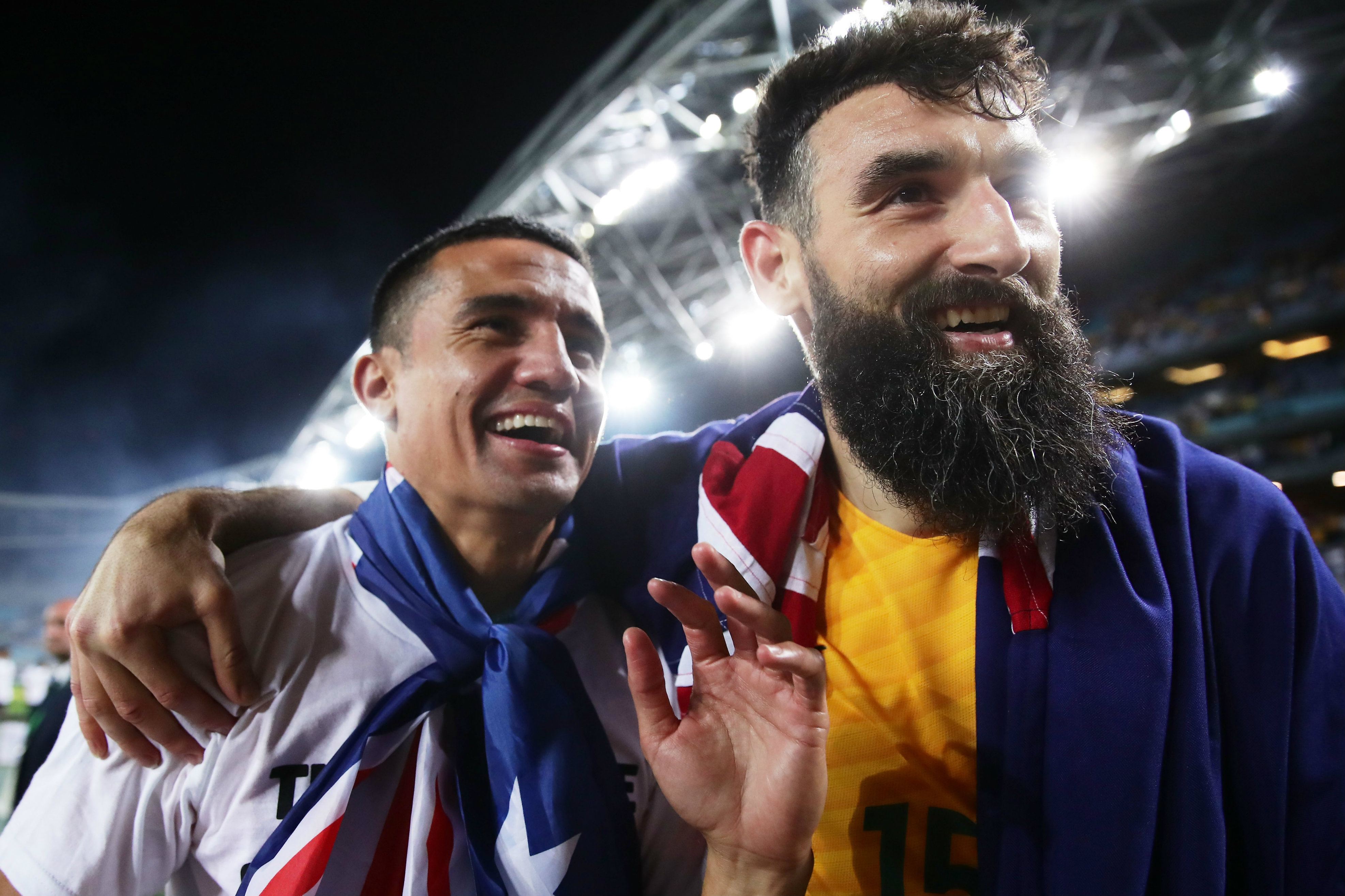 Tim Cahill and Mile Jedinak