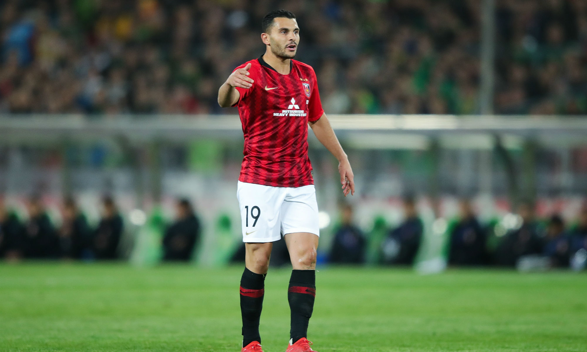 Andrew Nabbout's Urawa Red Diamonds can still qualify from their AFC Champions League group