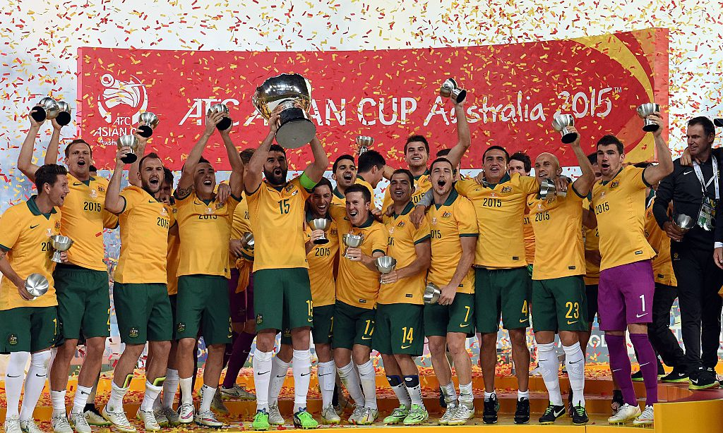 Australia Socceroos Asian Cup 2015 trophy Jedinak