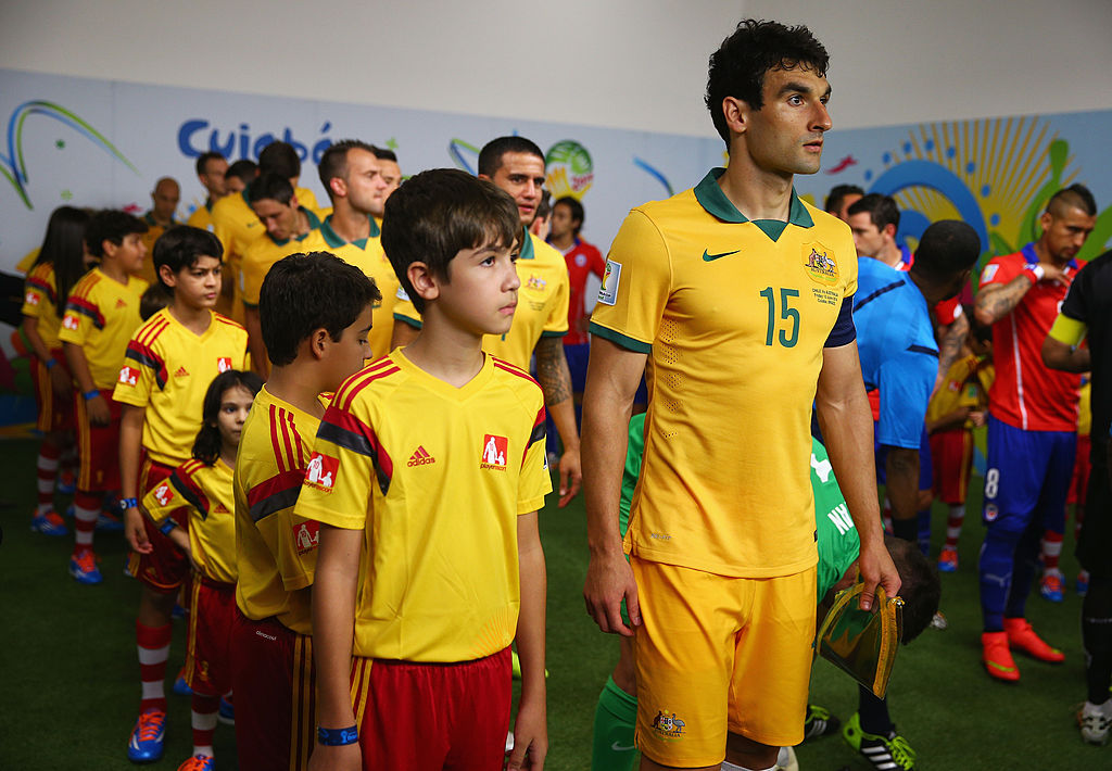 Mile Jedinak Australia Socceroos World Cup Chile 2014