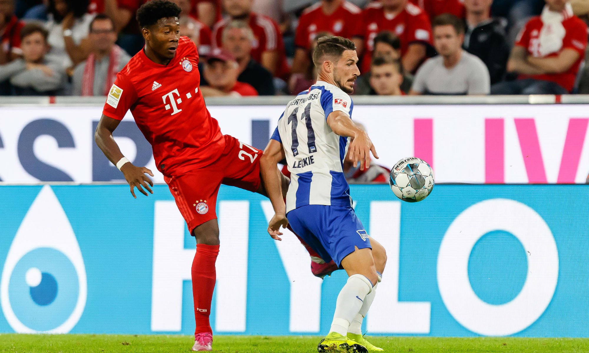 Aussies Abroad: Leckie deployed in new role in Hertha's thrilling Bundesliga clash with Bayern Munich