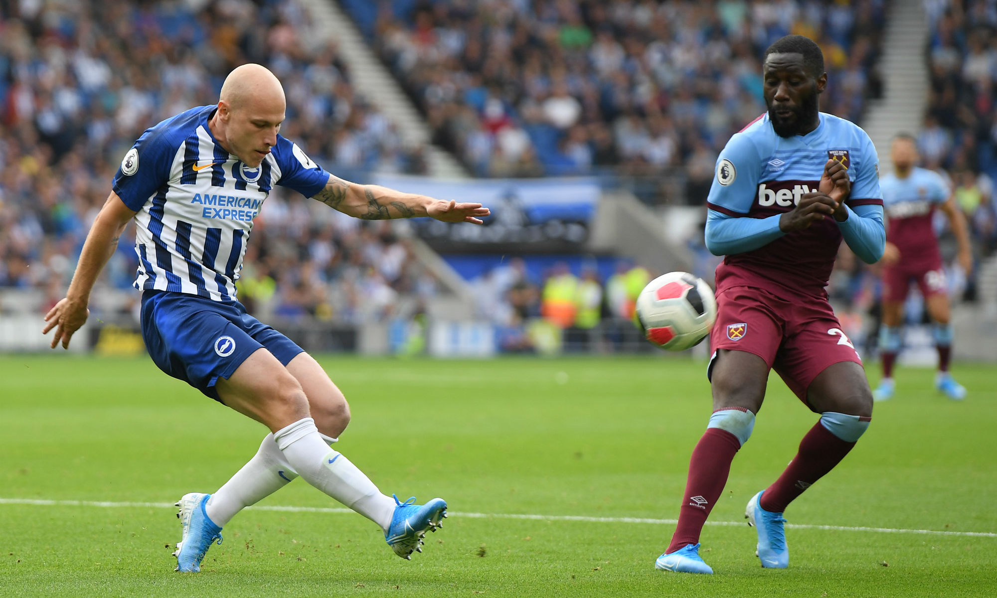 Aussies Abroad: Mooy makes Brighton bow as Ryan helps secure draw with West Ham
