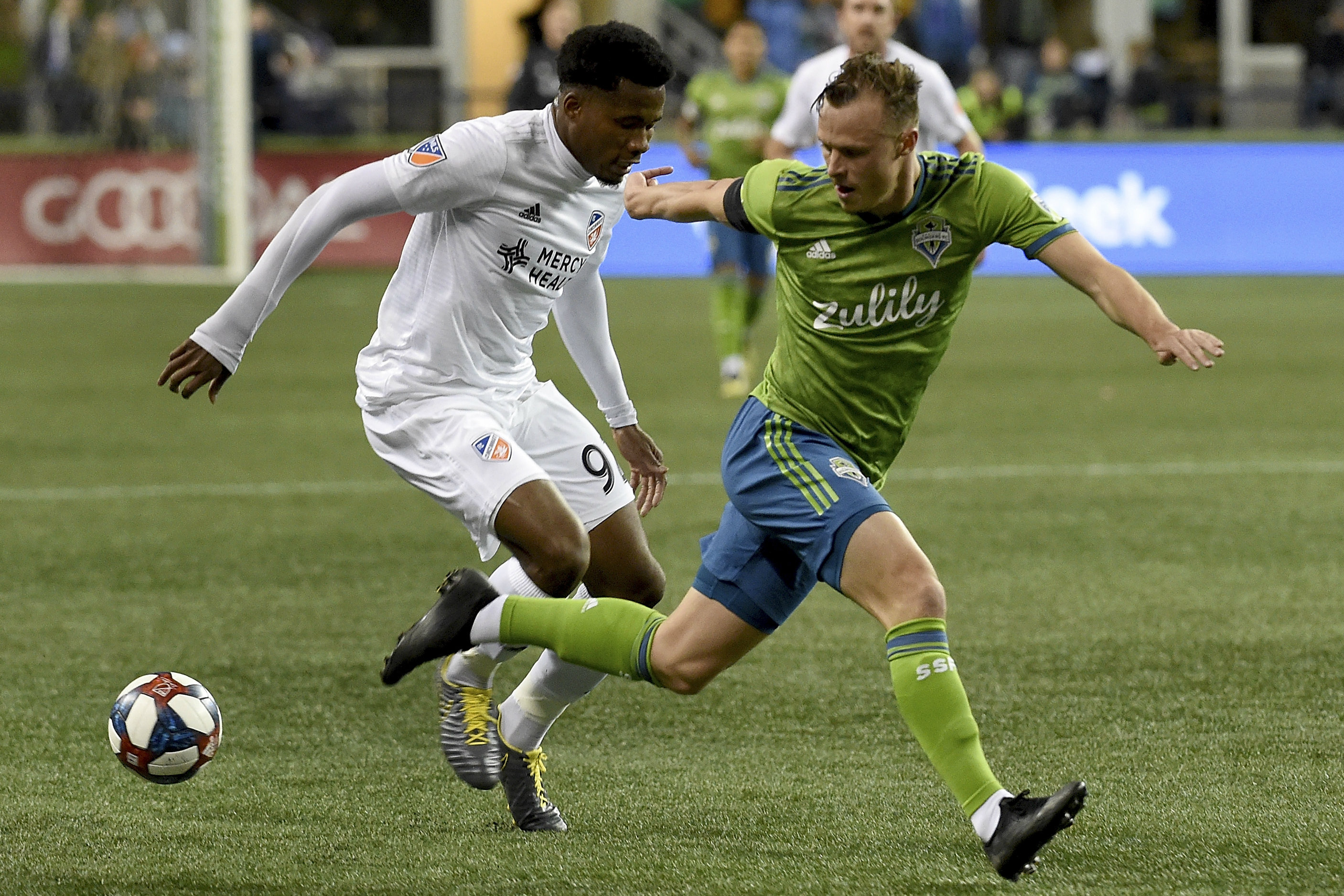 Brad Smith's Seattle Sounders can consolidate second spot in the Western Conference with a win this weekend