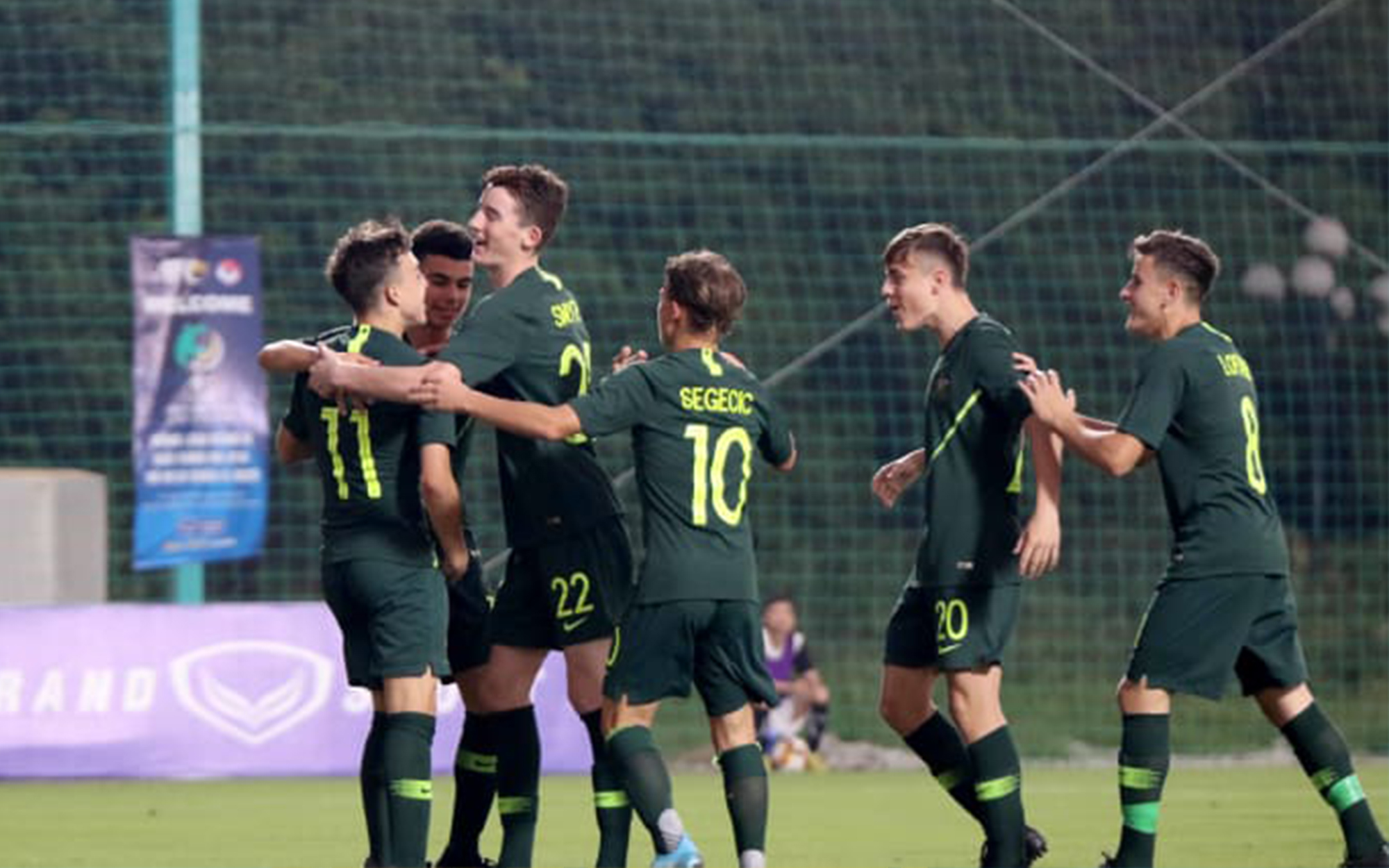 Joeys begin AFC U-16 Championship qualifiers with win