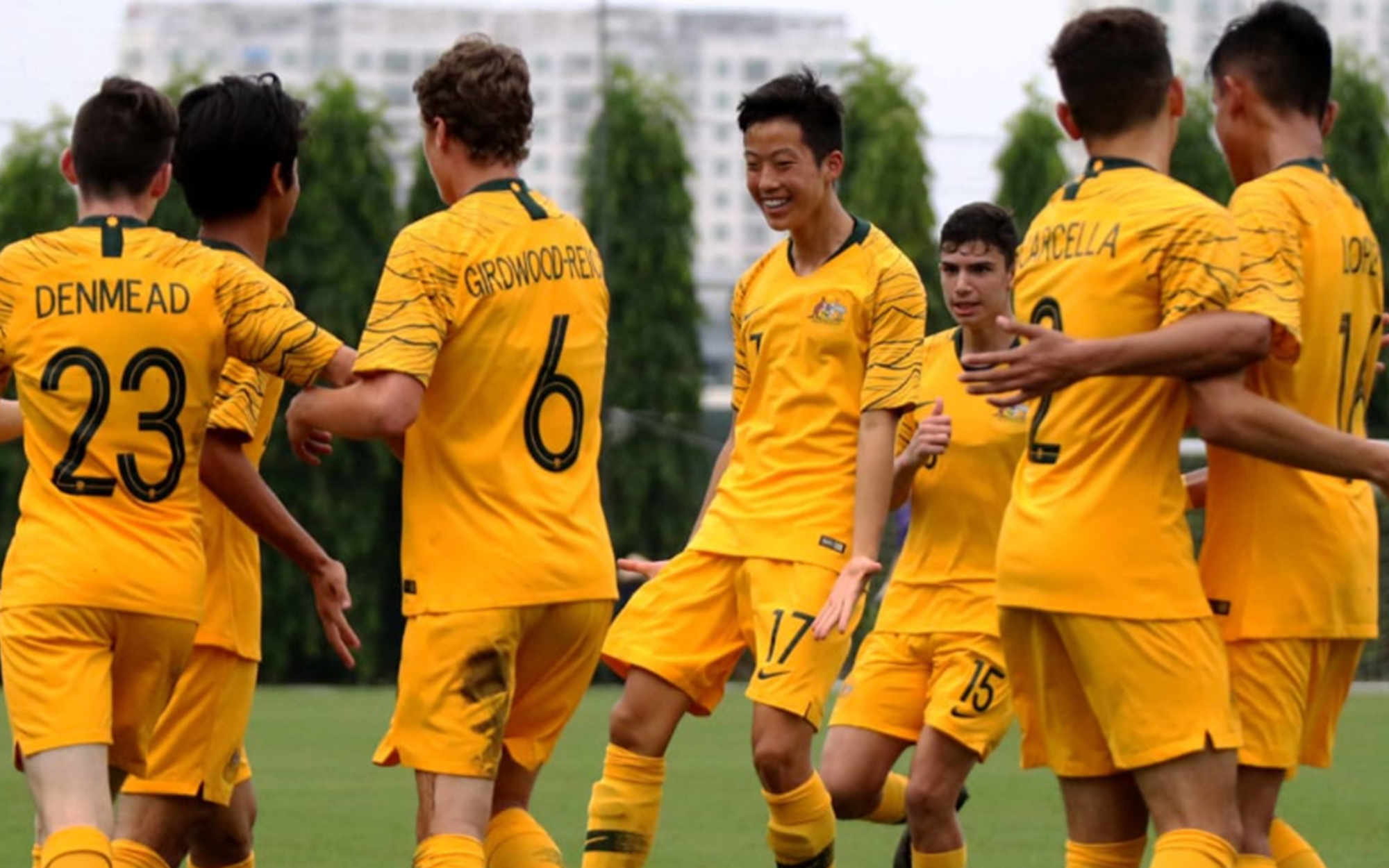 Joeys continue strong start to AFC U-16 Championship qualifiying