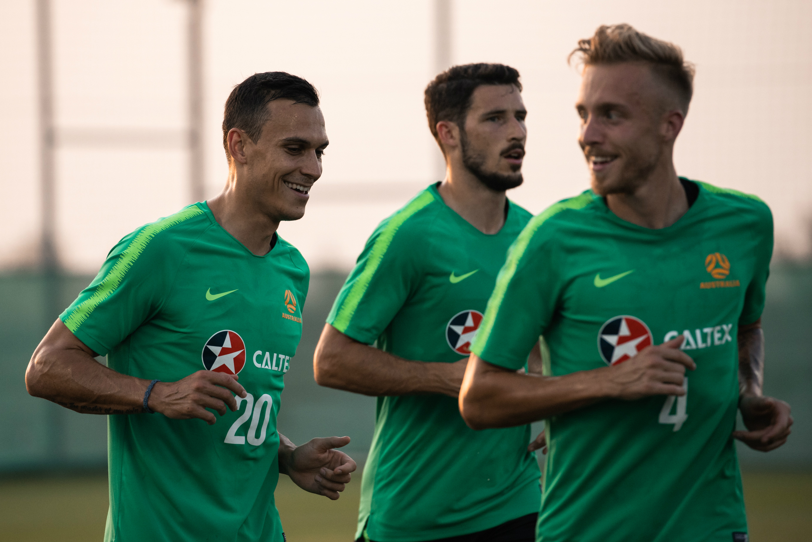 The week-long camp in Dubai is just what the Caltex Socceroos needed, according to Trent Sainsbury