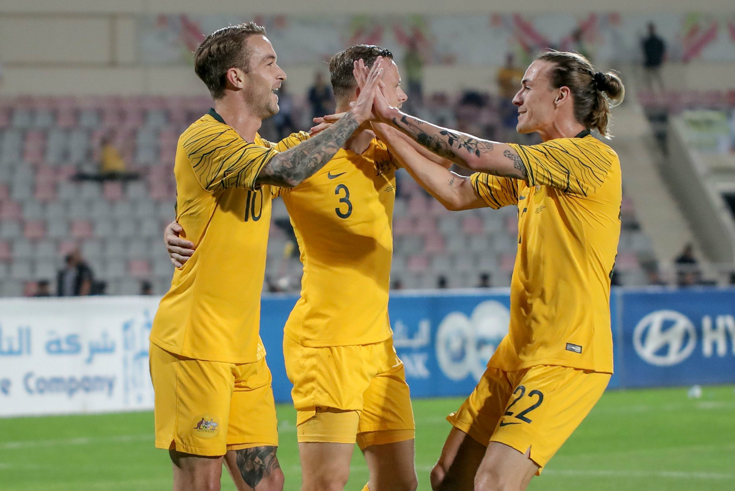 Caltex Socceroos on the rise in latest FIFA World Rankings