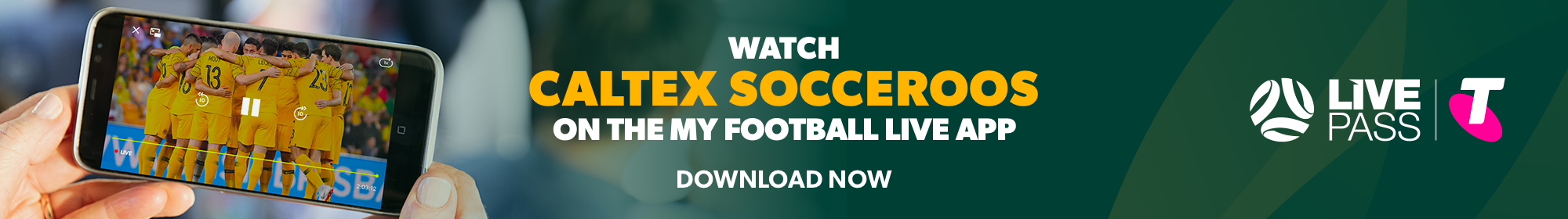 Socceroos Telstra Live Pass