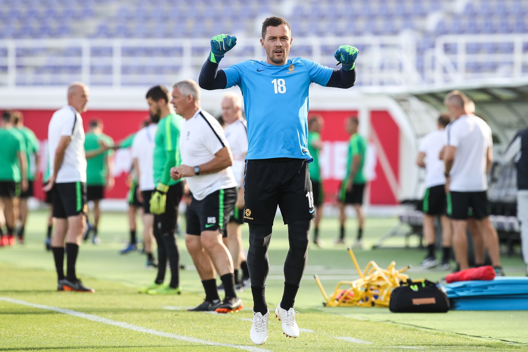 Vukovic nears the end of 'a long road' to recovery from ruptured Achilles