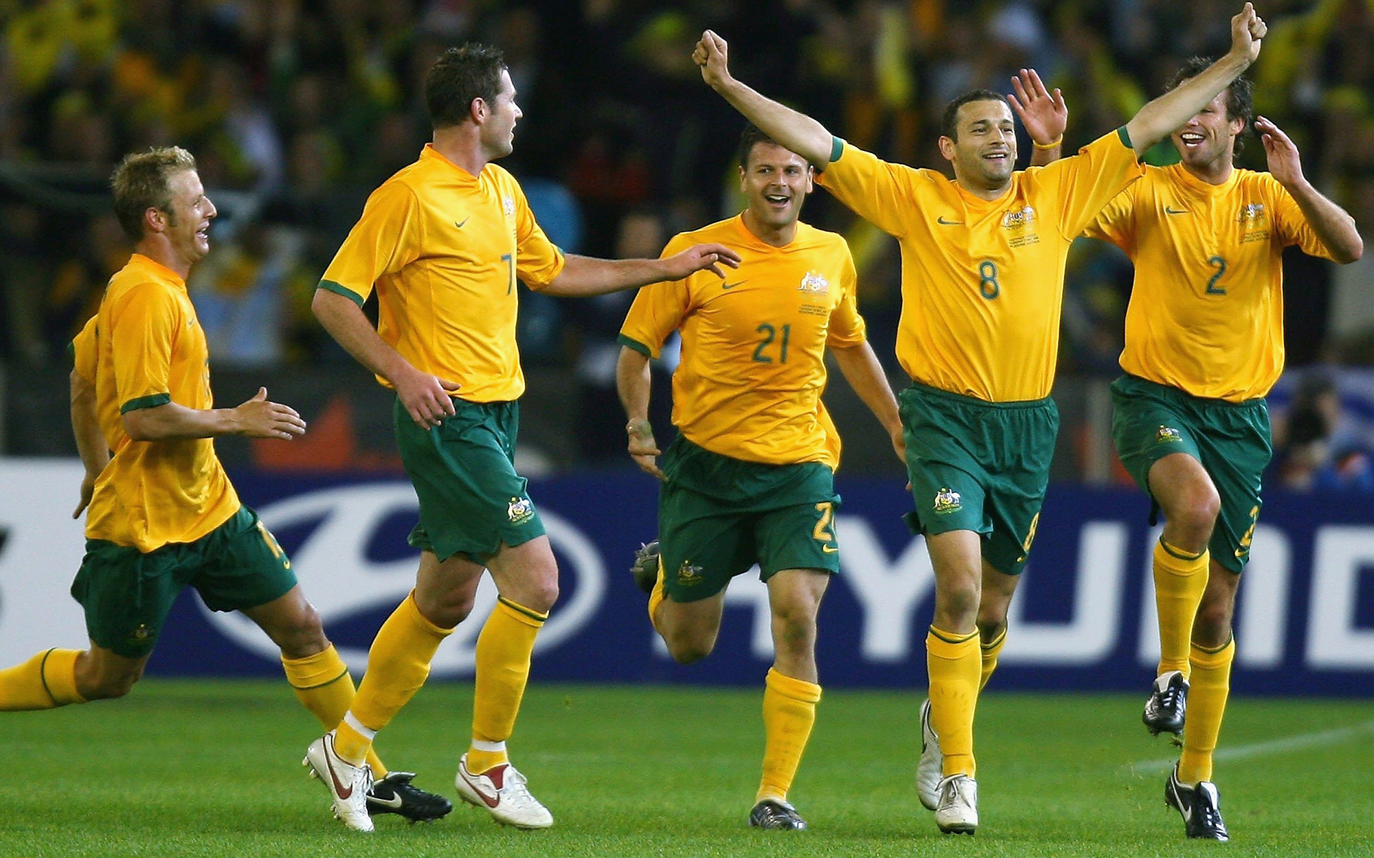 Top 5 highest attendances for Socceroos home matches
