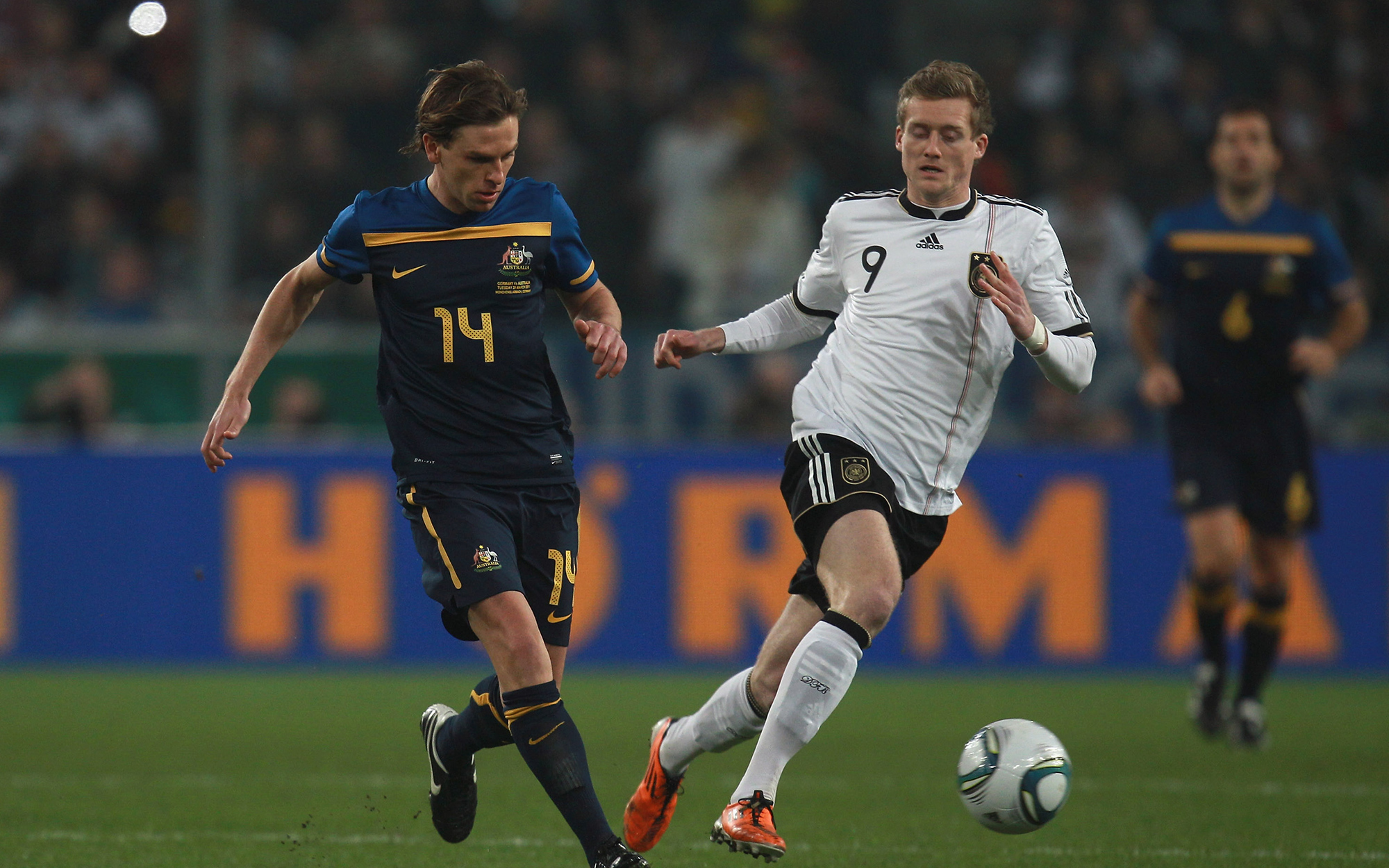 'We're determined to get one back on them': Brett Holman warns Germany ahead of friendly