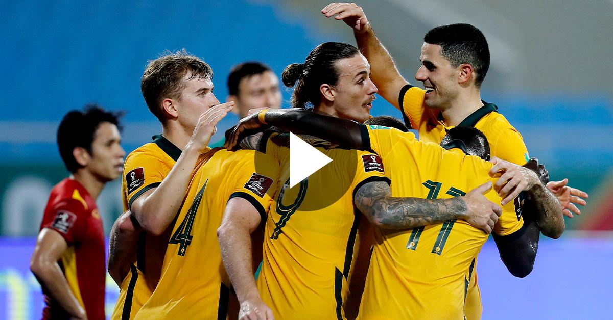WATCH: Socceroos v Vietnam - Extended Highlights