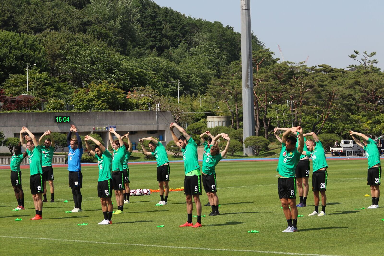Gallery: Caltex Socceroos train in Busan ahead of Korea Republic clash