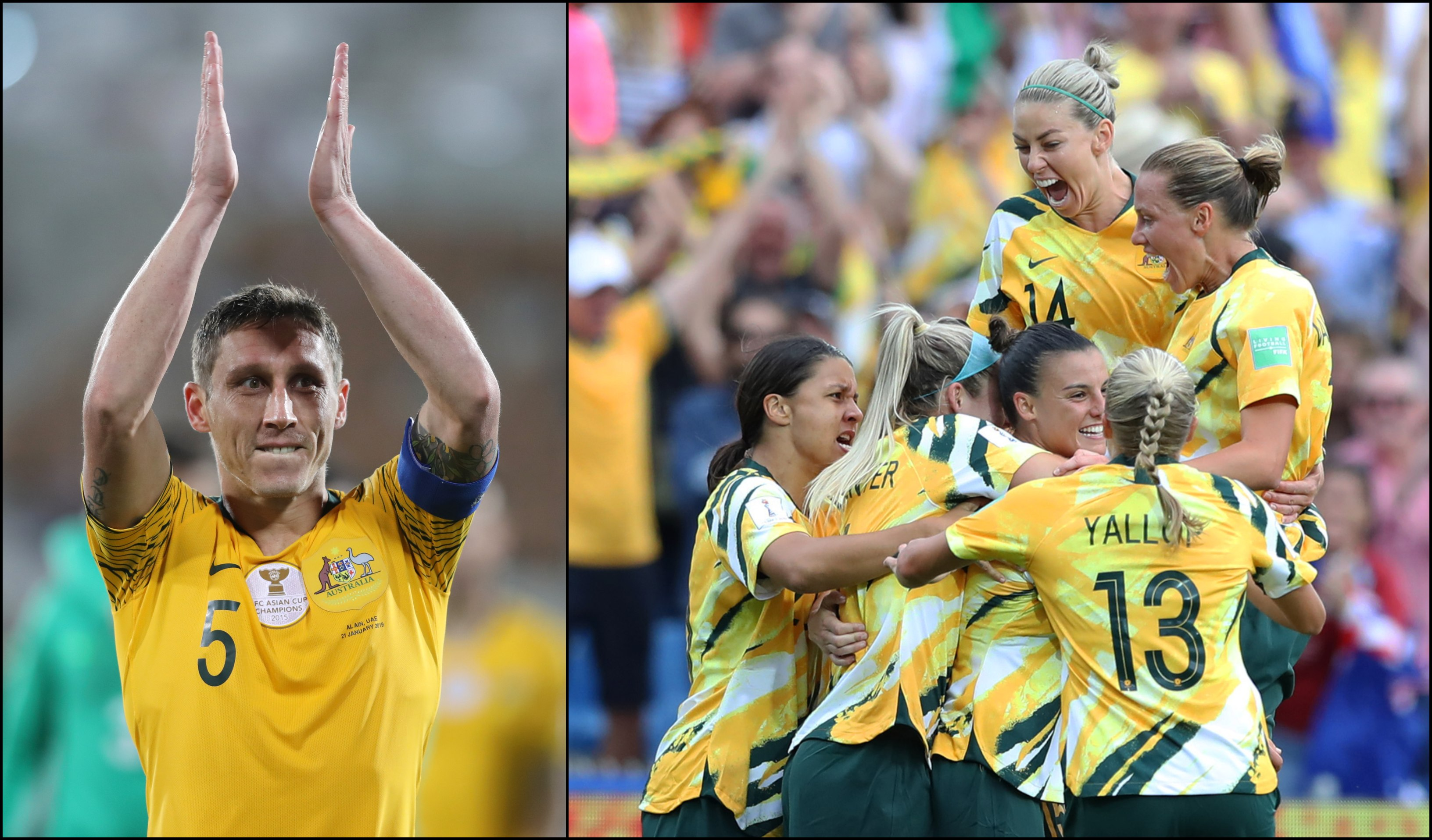 5a1bb6bddfa 'That sums up their passion': Caltex Socceroos skipper witnesses awesome  Matildas moment