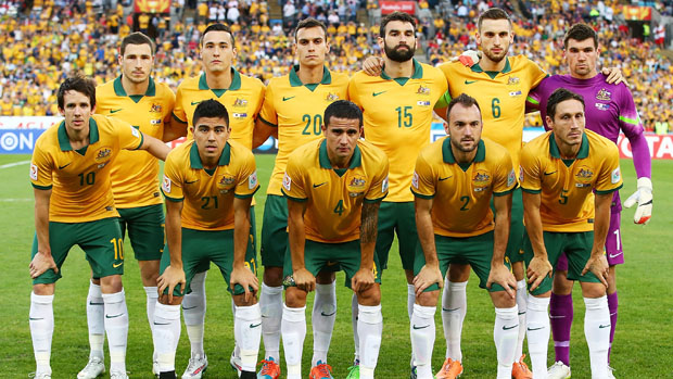 The Socceroos starting XI which faced Korea Republic in the Asian Cup final.