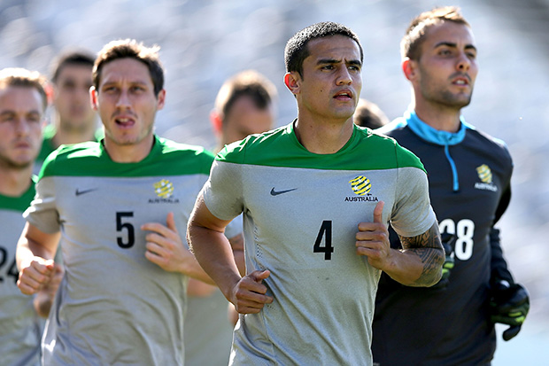 ebf4a1a3f Day 8 at the Socceroos  boot camp for Brazil